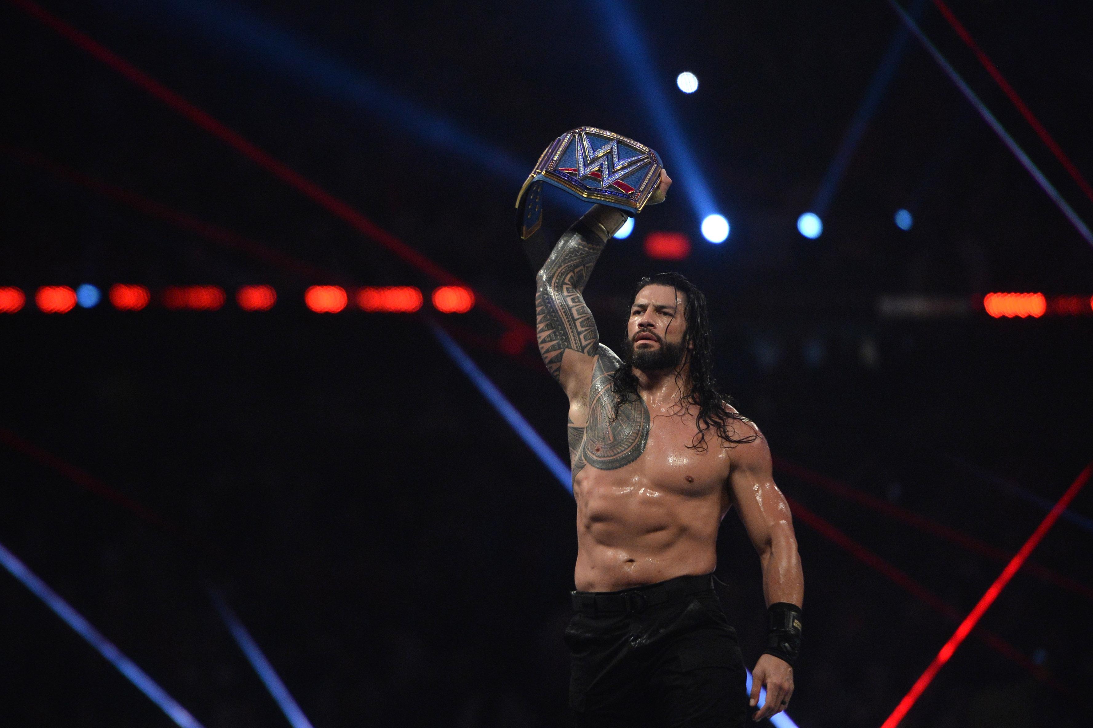 摔跤:WWE WrestleMania