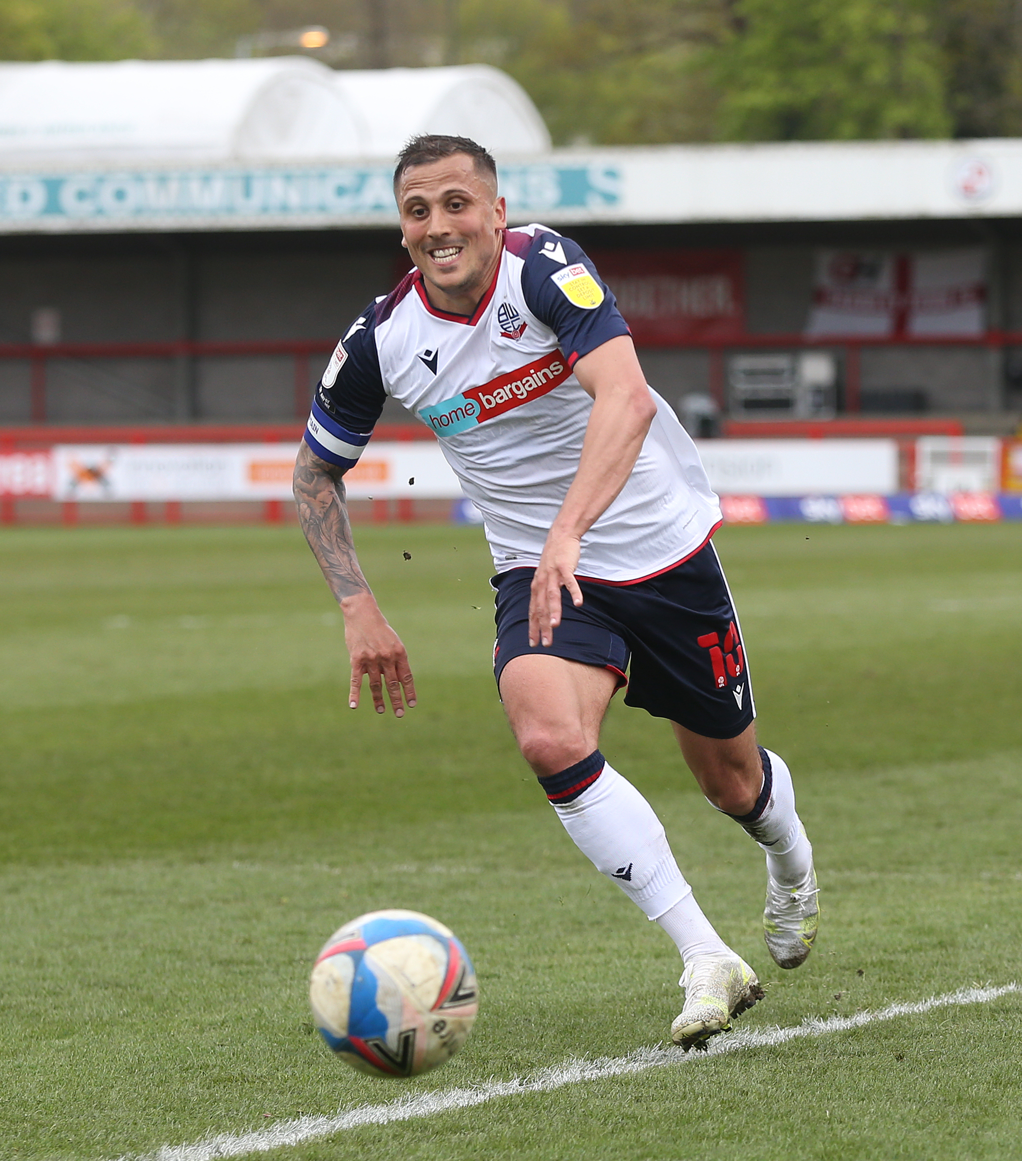 Crawley Town v Bolton Wanderers - Sky Bet League Two