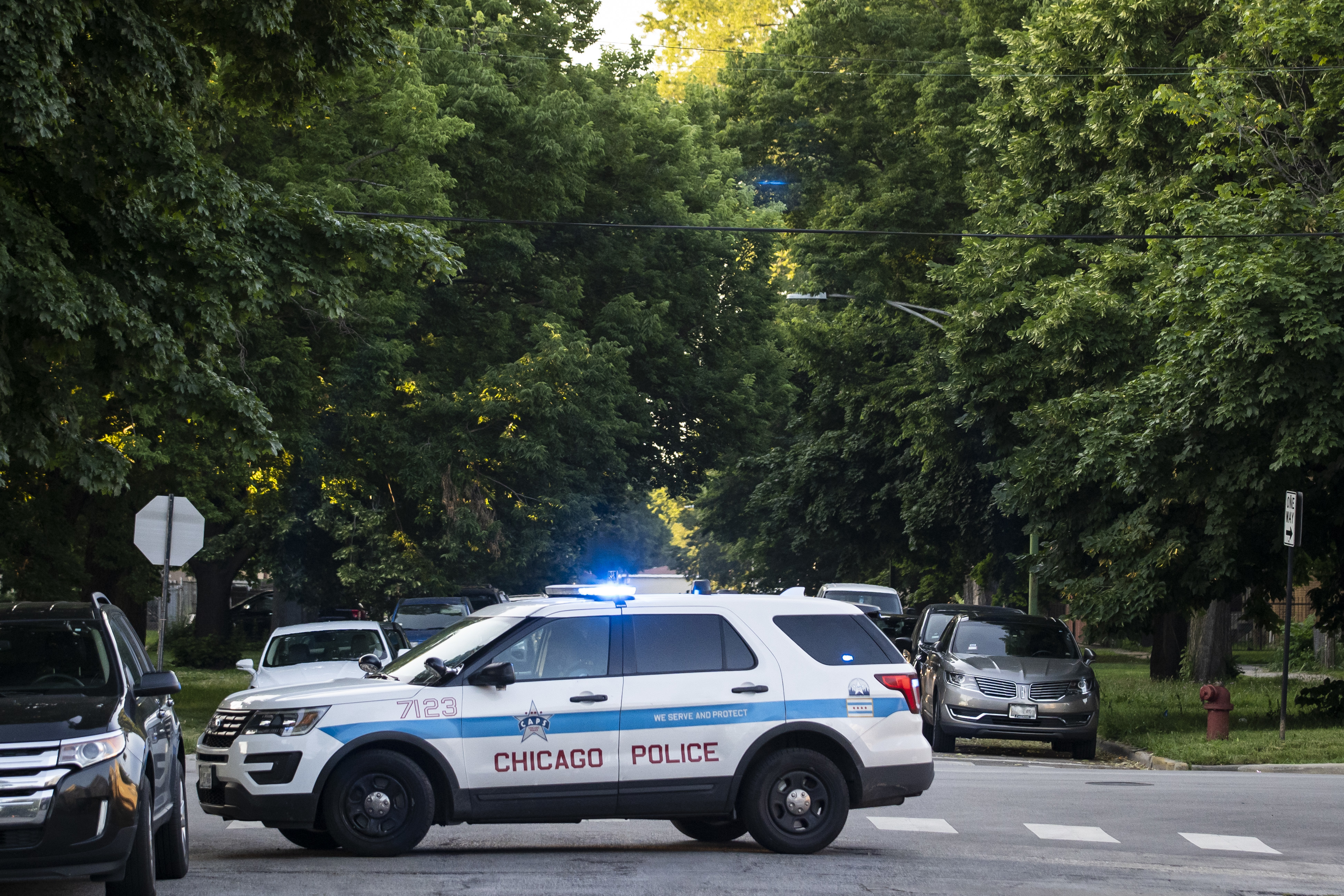 A teenage boy was shot May 16, 2021, in McKinley Park.