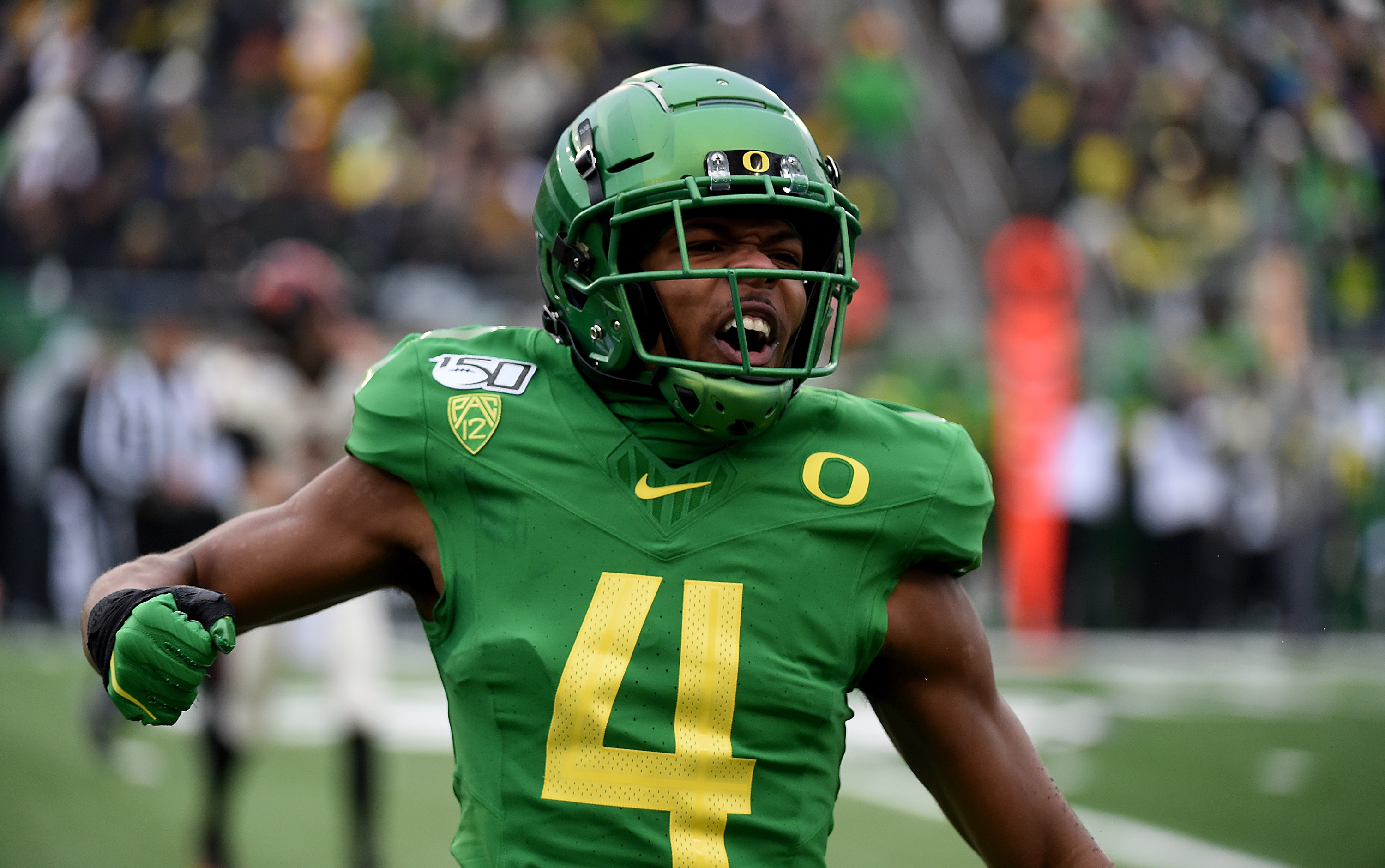 Thomas Graham started 39-straight games at Oregon.