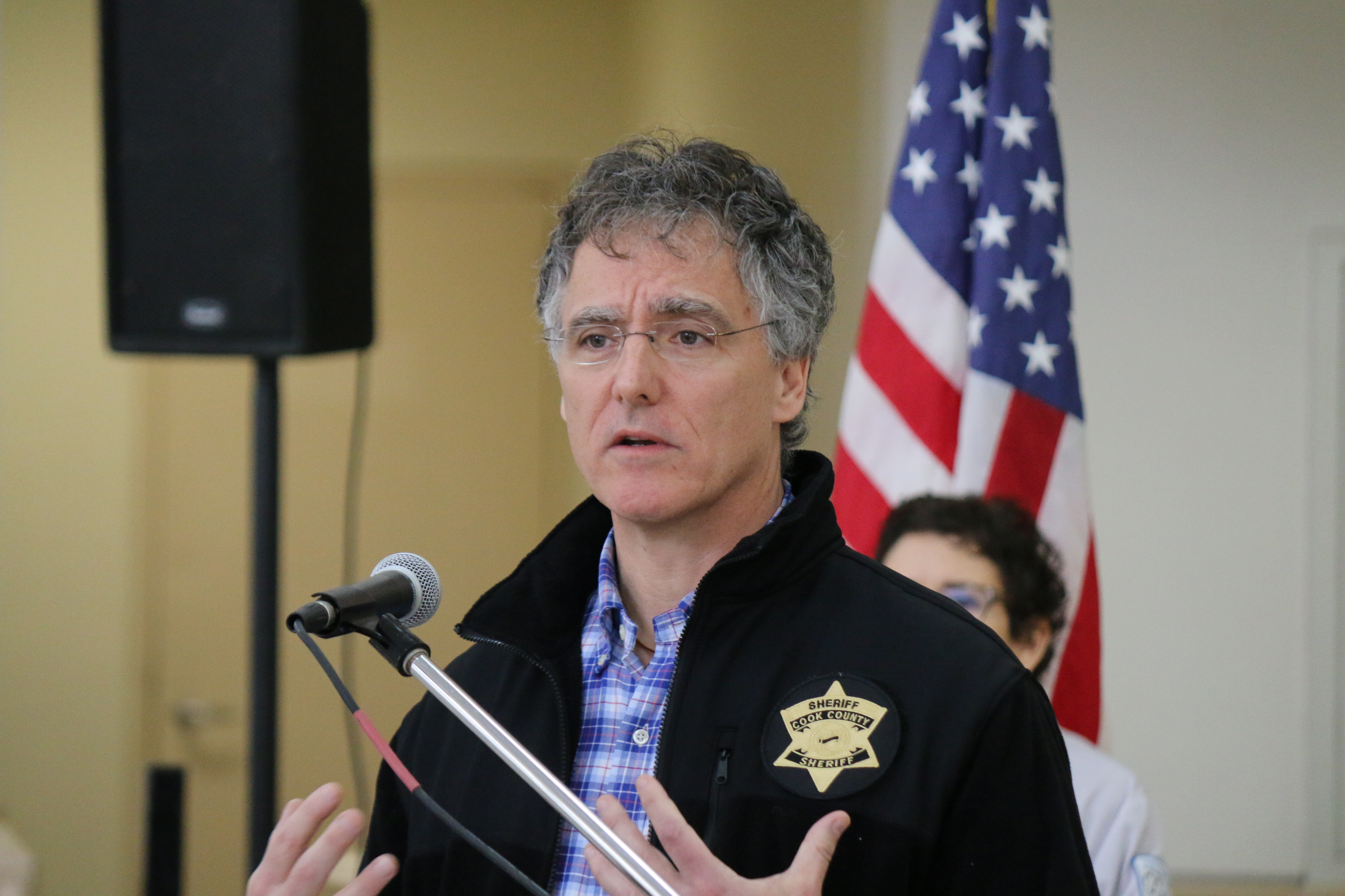 Cook County Sheriff Tom Dart.