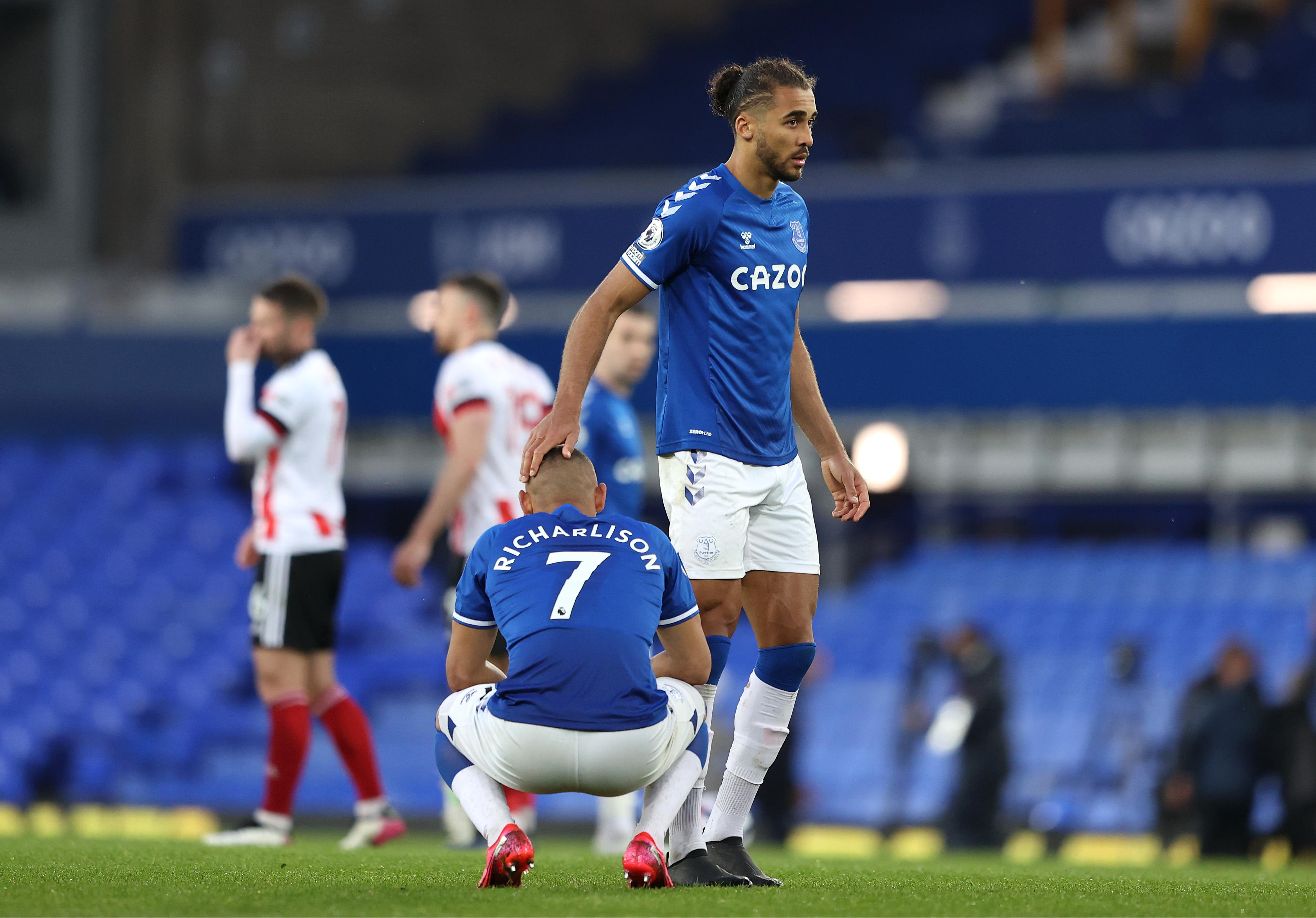 Everton v Sheffield United - Premier League