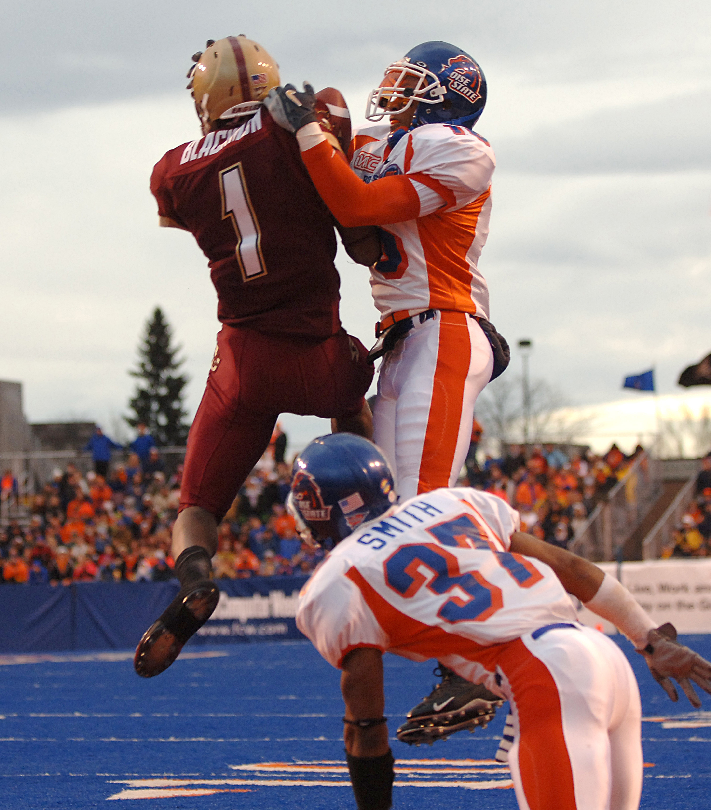 NCAA Football - MPC Computers Bowl - Boise State vs Boston College - December 28, 2005