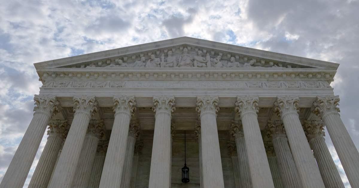 Exterior of U.S. Supreme Court