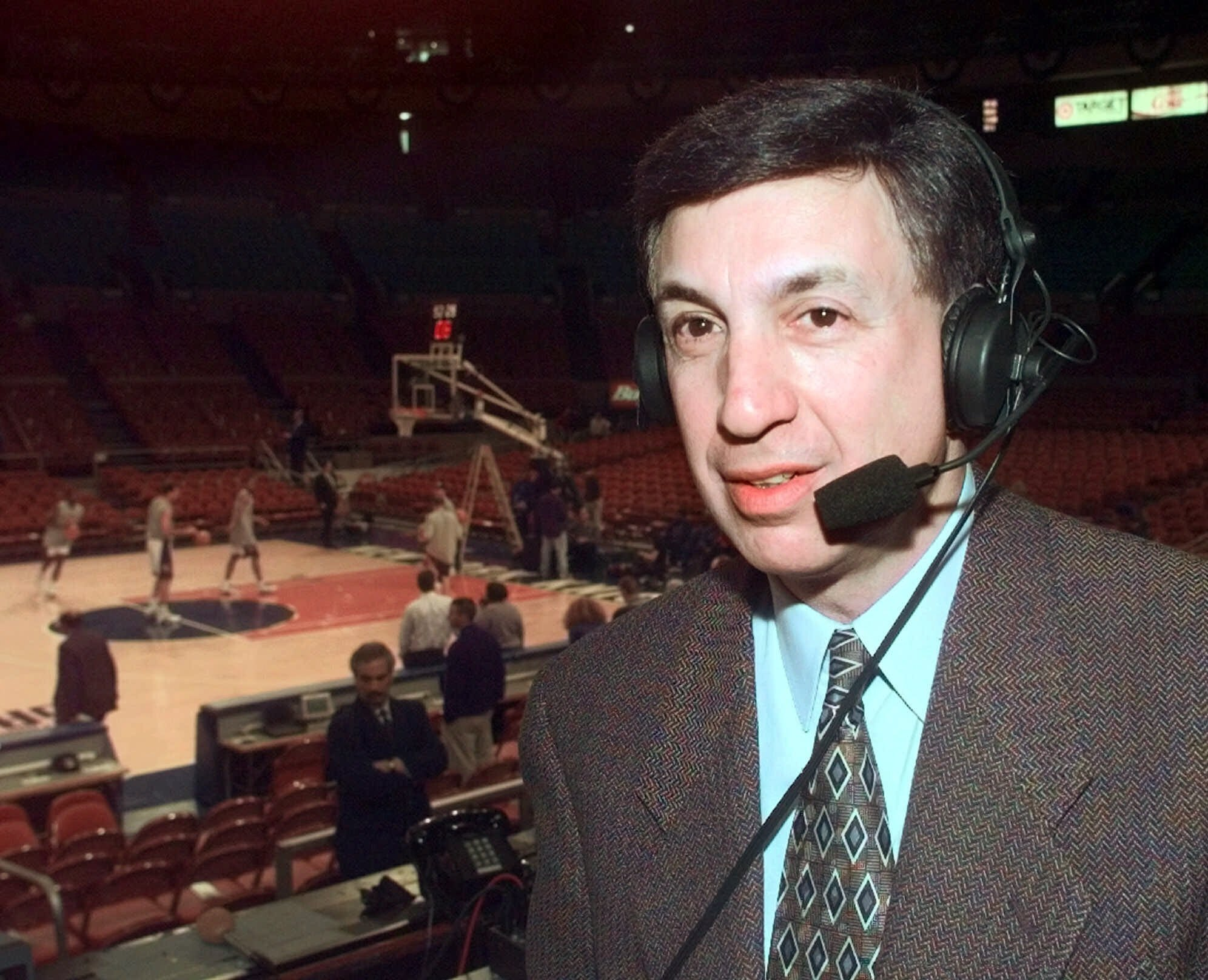 Broadcaster Marv Albert will retire after this year's NBA Eastern Conference finals.