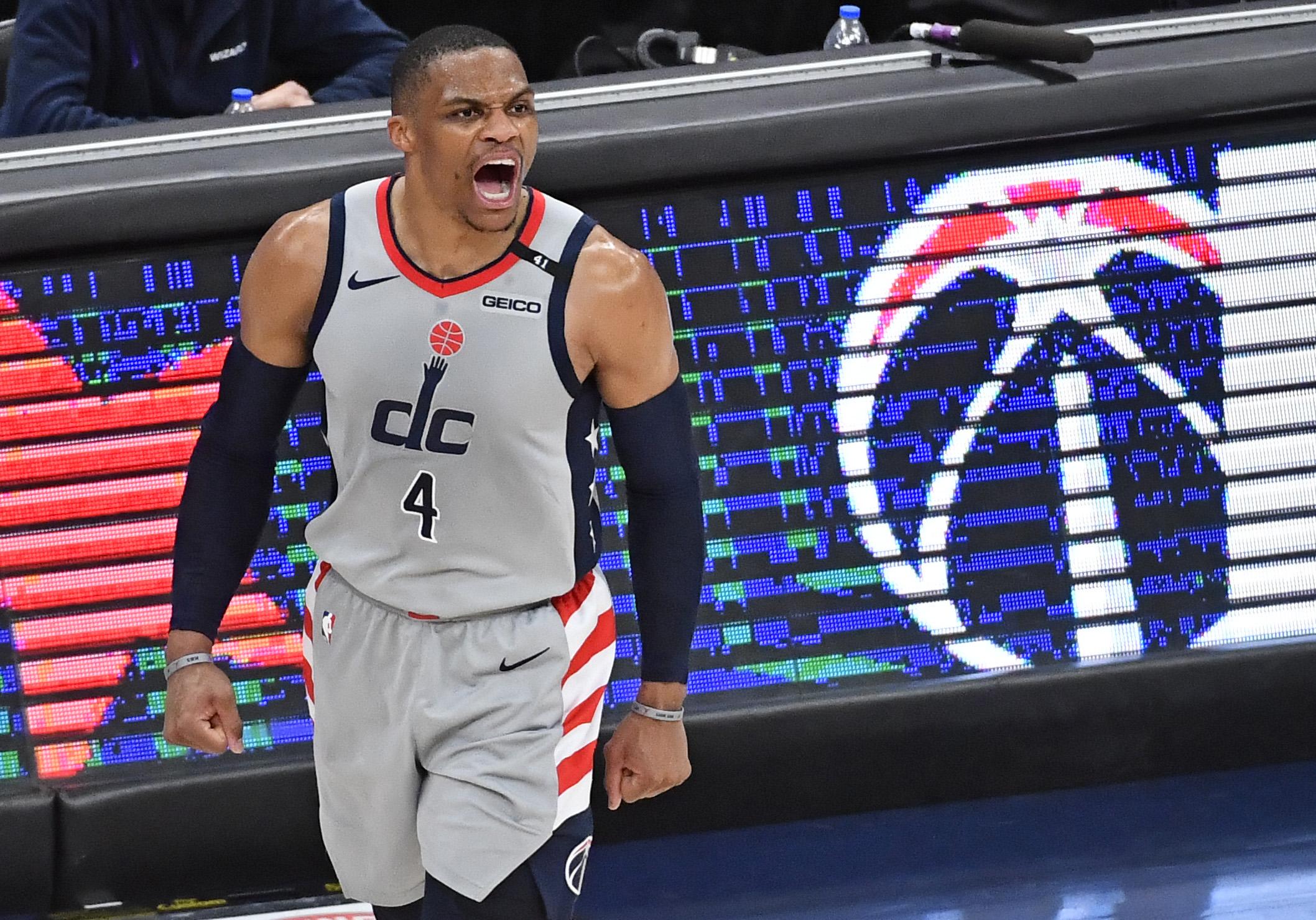 NBA:夏洛特黄蜂队对阵华盛顿奇才队
