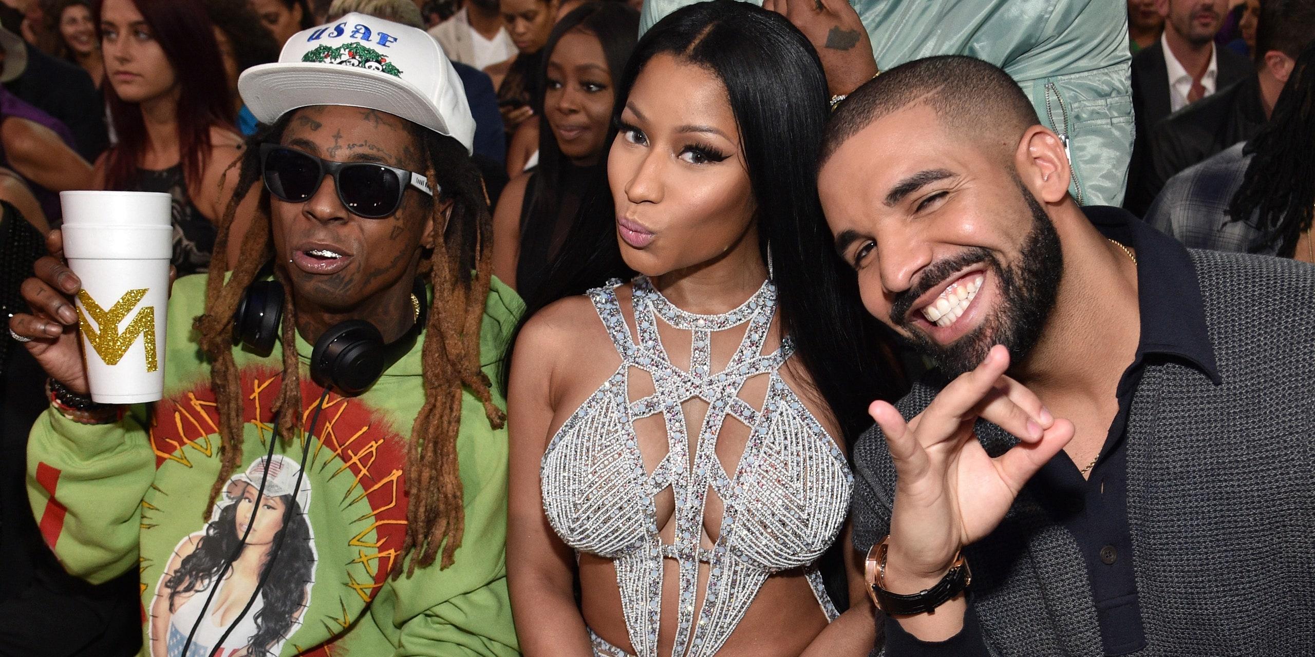 Lil Wayne, Nicki Minaj, Drake