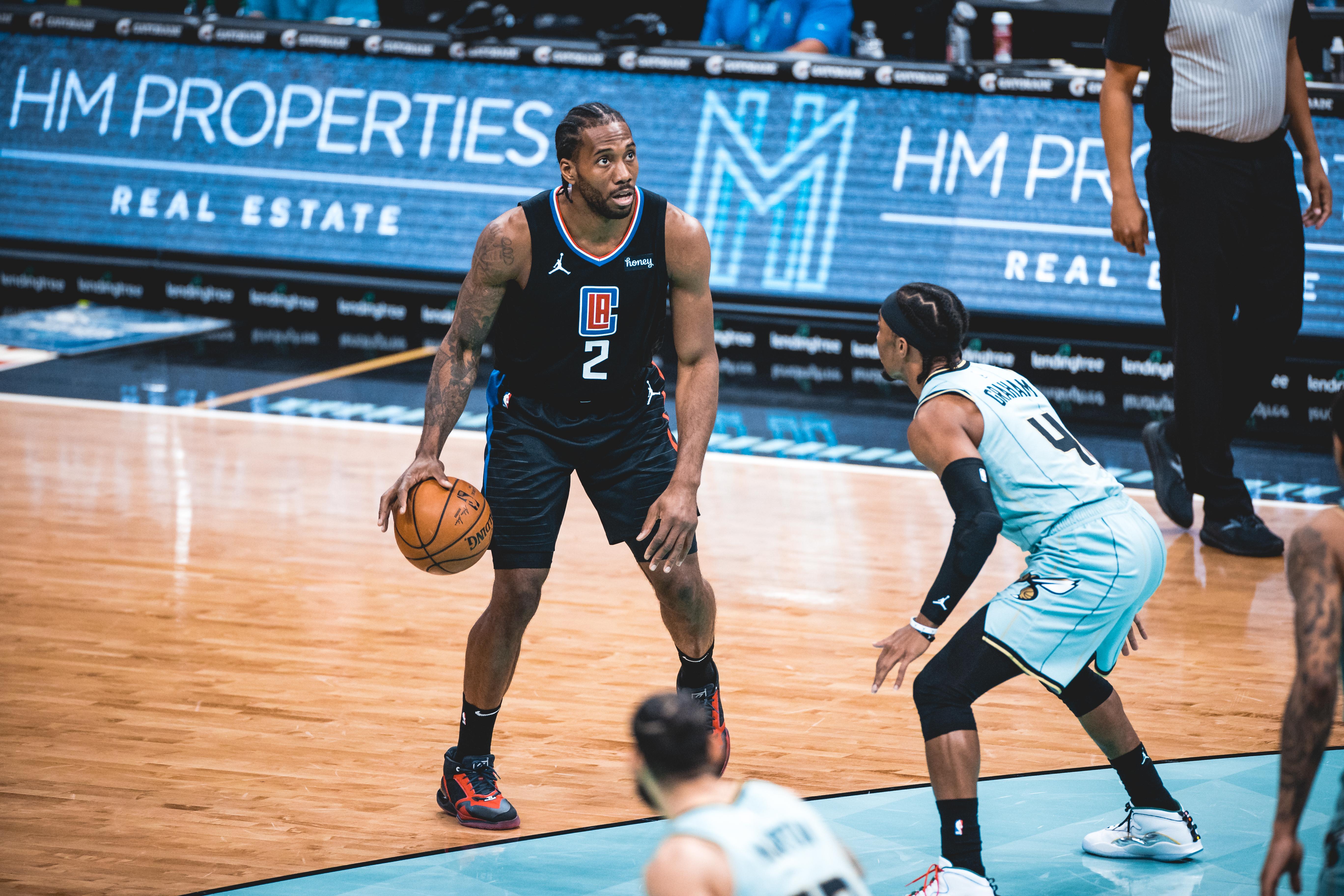 LA Clippers v Charlotte Hornets