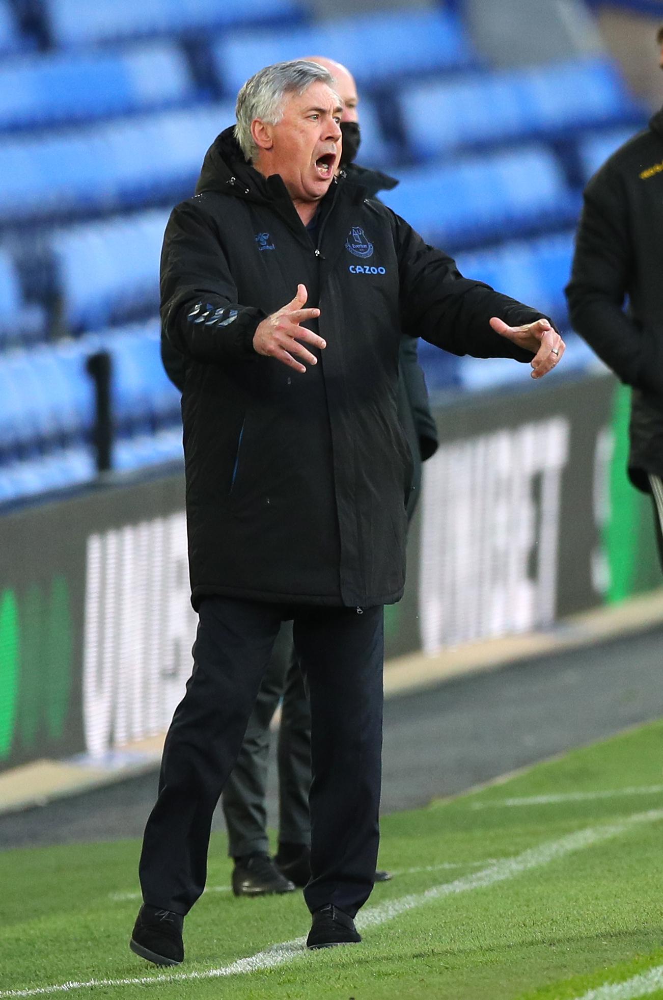 Everton v Sheffield United - Premier League - Goodison Park