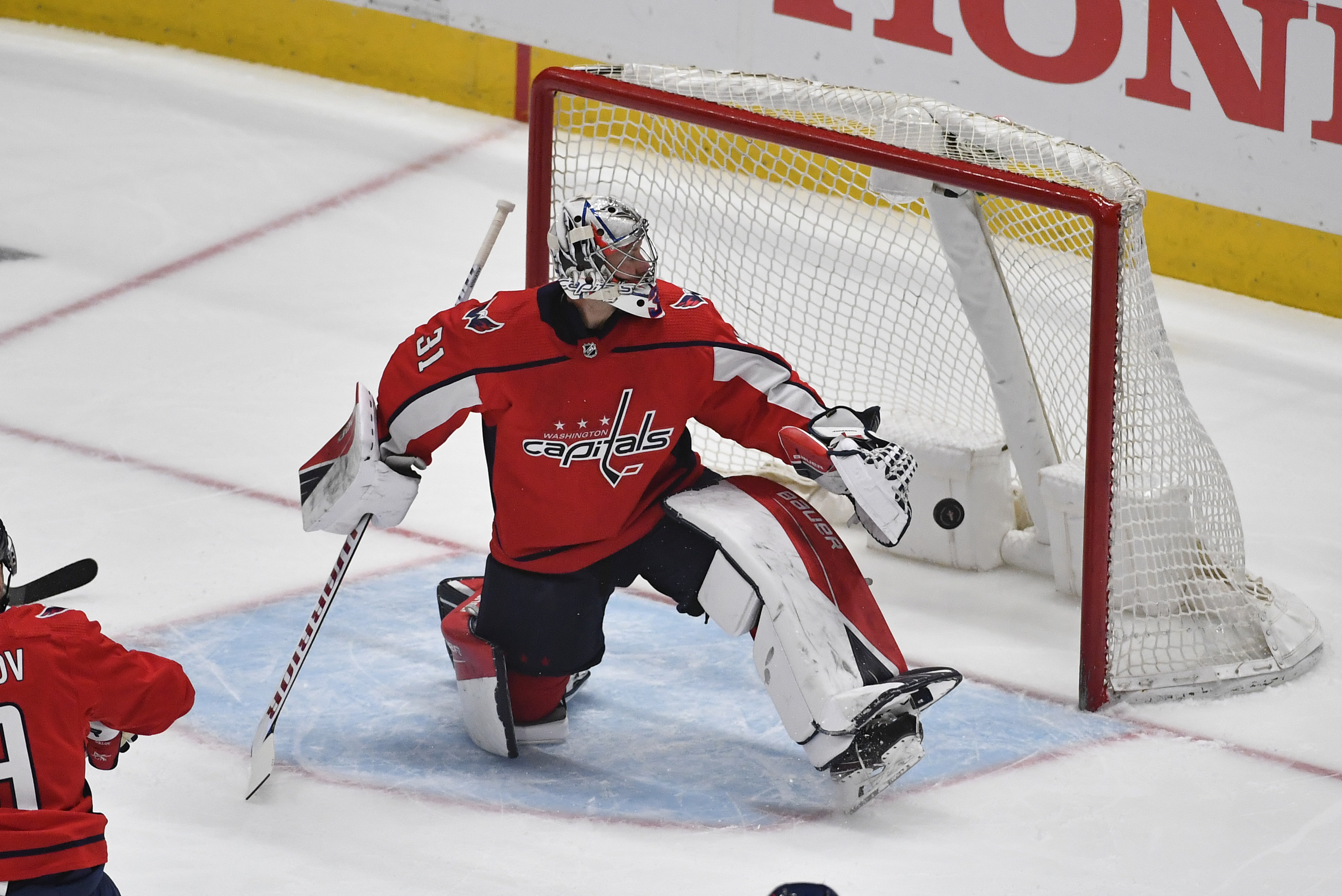 NHL: Stanley Cup Playoffs-Boston Bruins at Washington Capitals