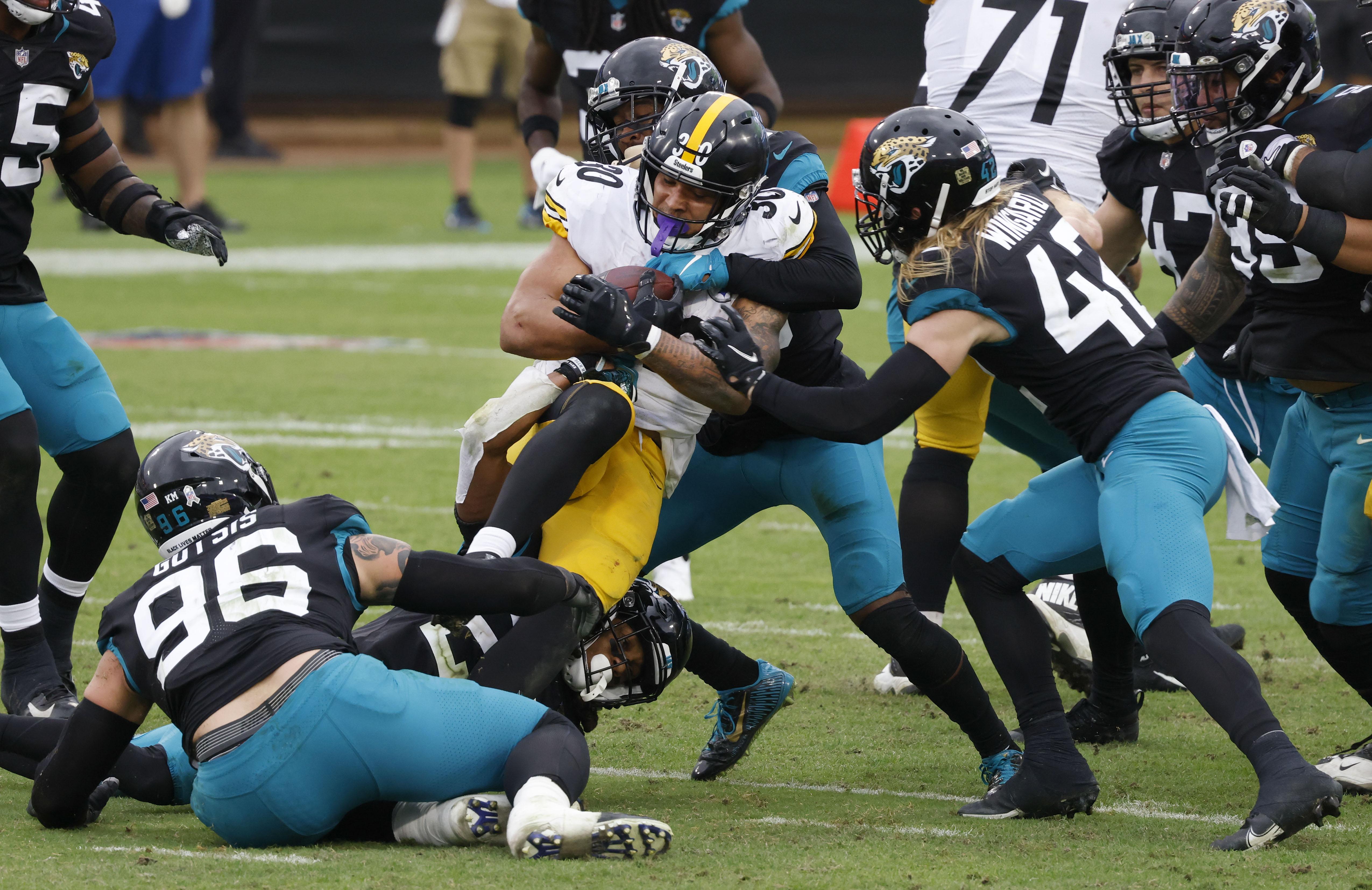 NFL:匹华体会电竞兹堡钢人队对阵杰克逊维尔美洲虎队