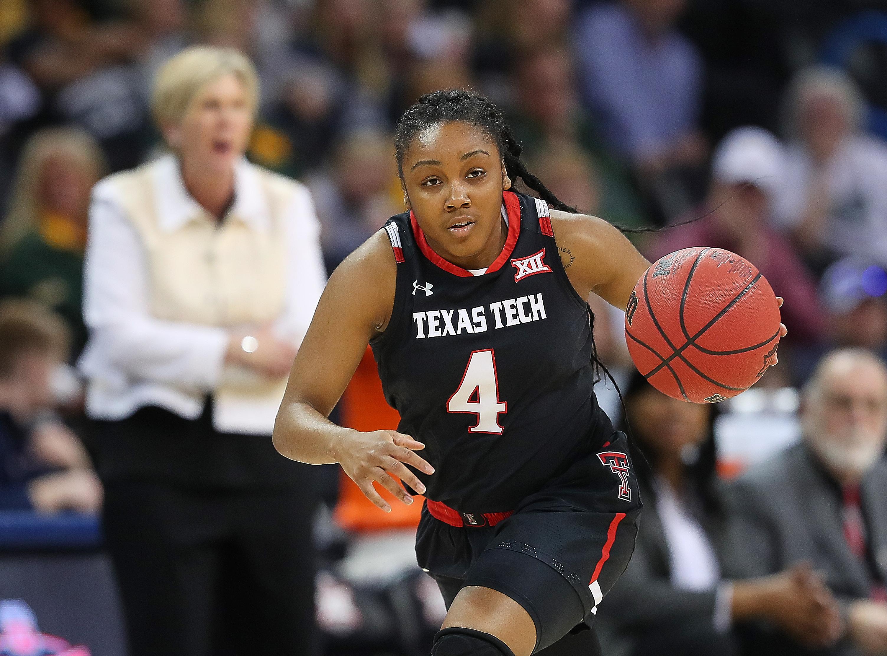 COLLEGE BASKETBALL: MAR 09 Big 12 Conference Women's Championship - Baylor v Texas Tech