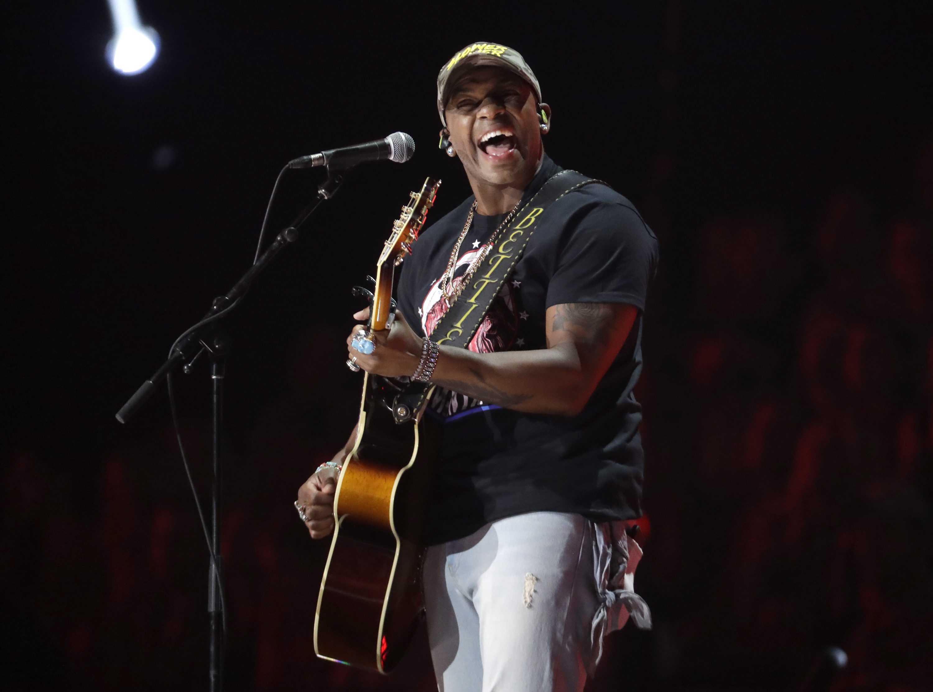 "Jimmie Allen made history in 2018 as the first Black artist to launch a career with two consecutive No. 1 hits on country radio, with ""Best Shot"" and ""Make Me Want To."""
