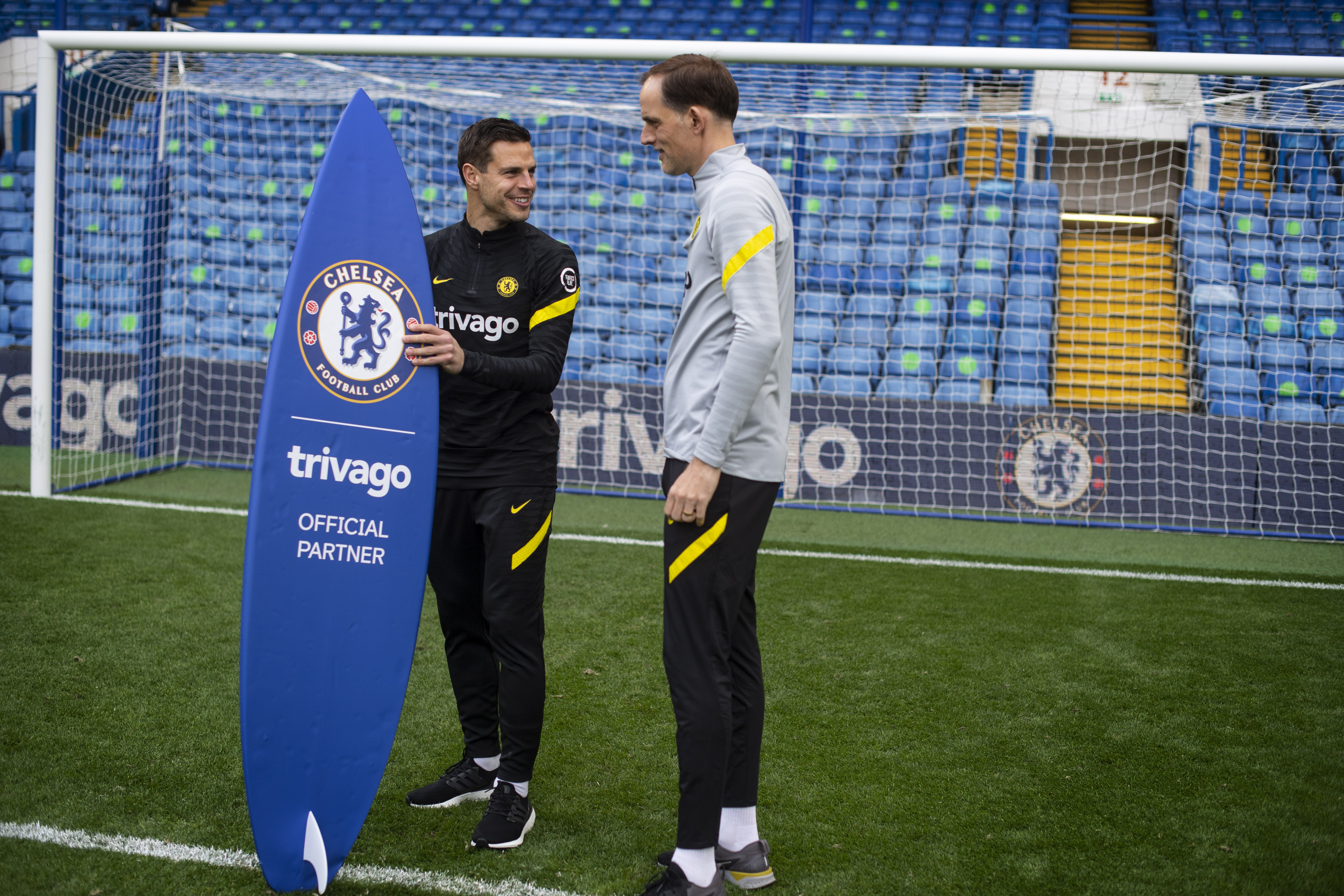 Chelsea partnership with Trivago