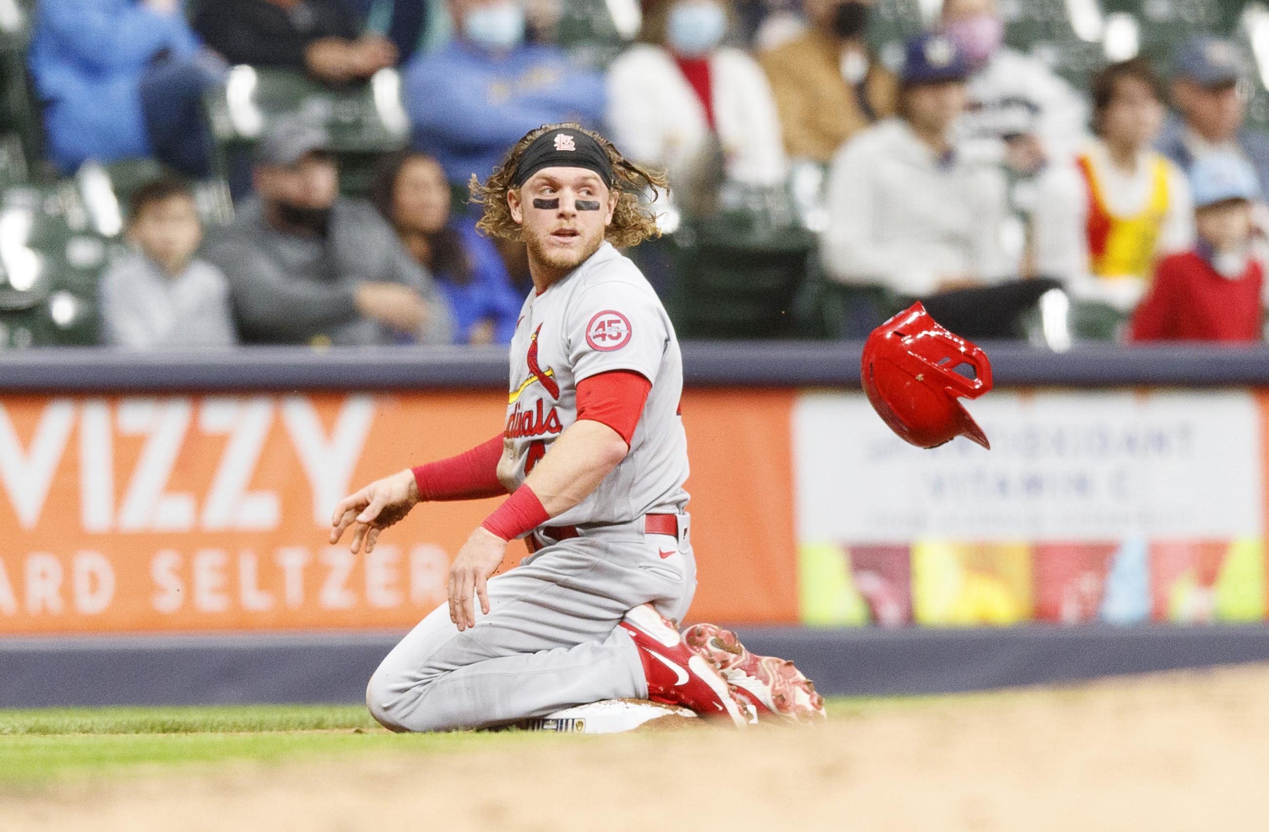 MLB:Milwaukee Brewers的圣路易斯红雀队