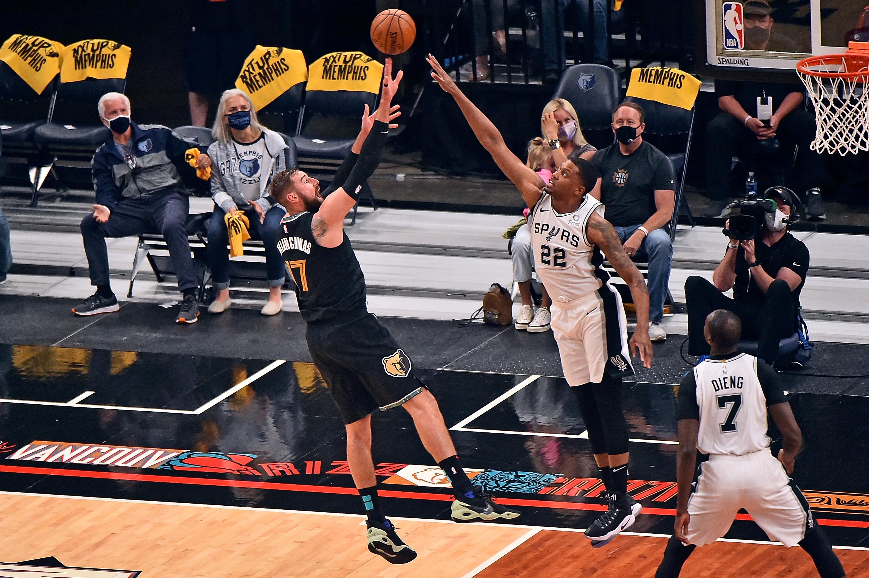 San Antonio Spurs v Memphis Grizzlies - Play-In Tournament