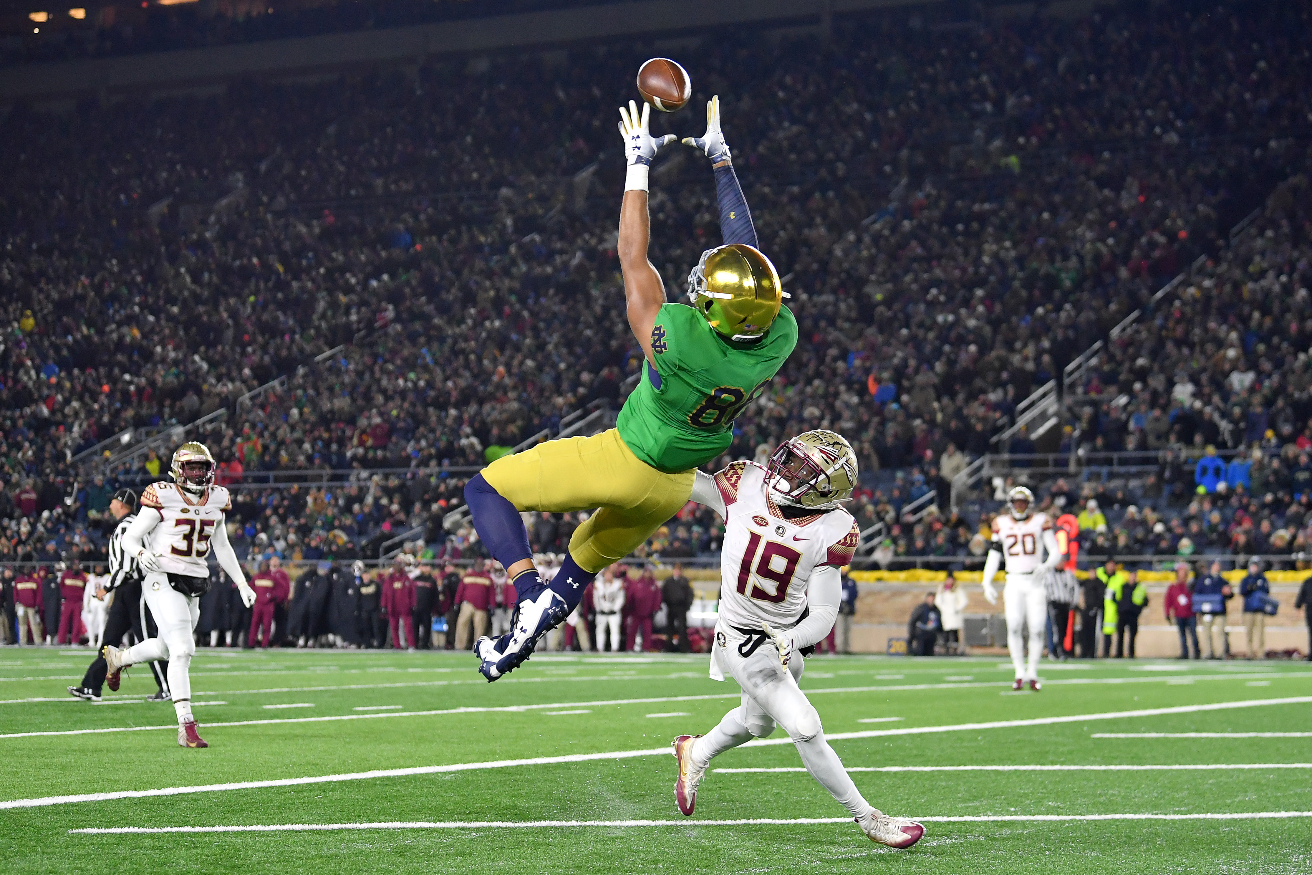COLLEGE FOOTBALL: NOV 10 Florida State at Notre Dame