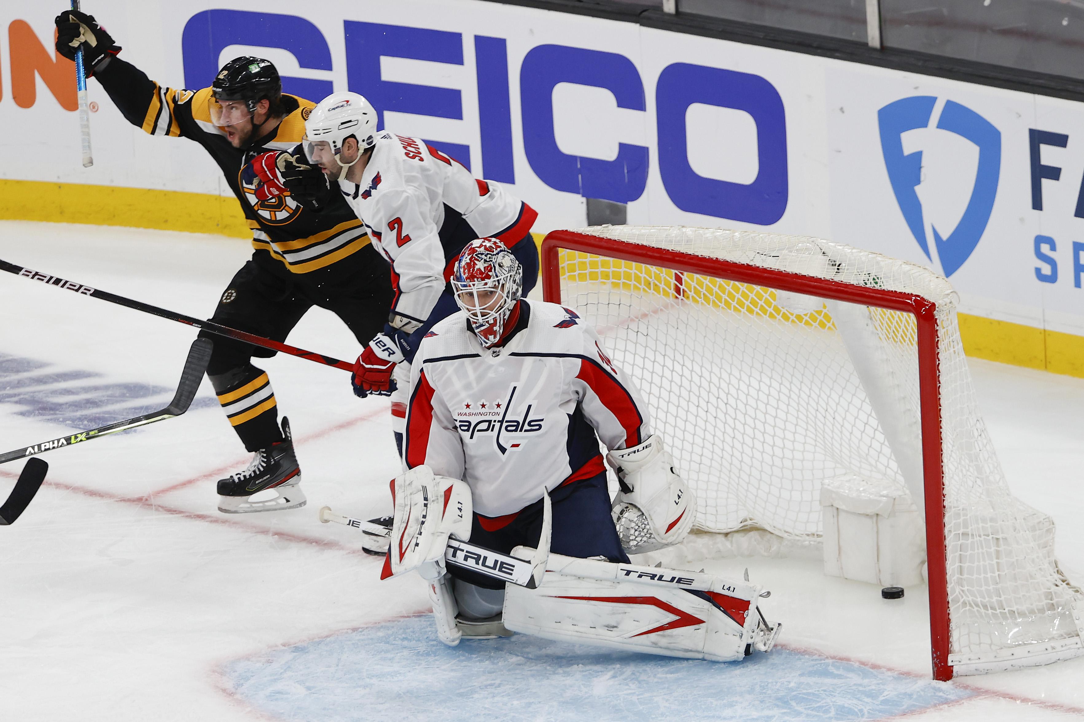NHL: Stanley Cup Playoffs-Washington Capitals at Boston Bruins