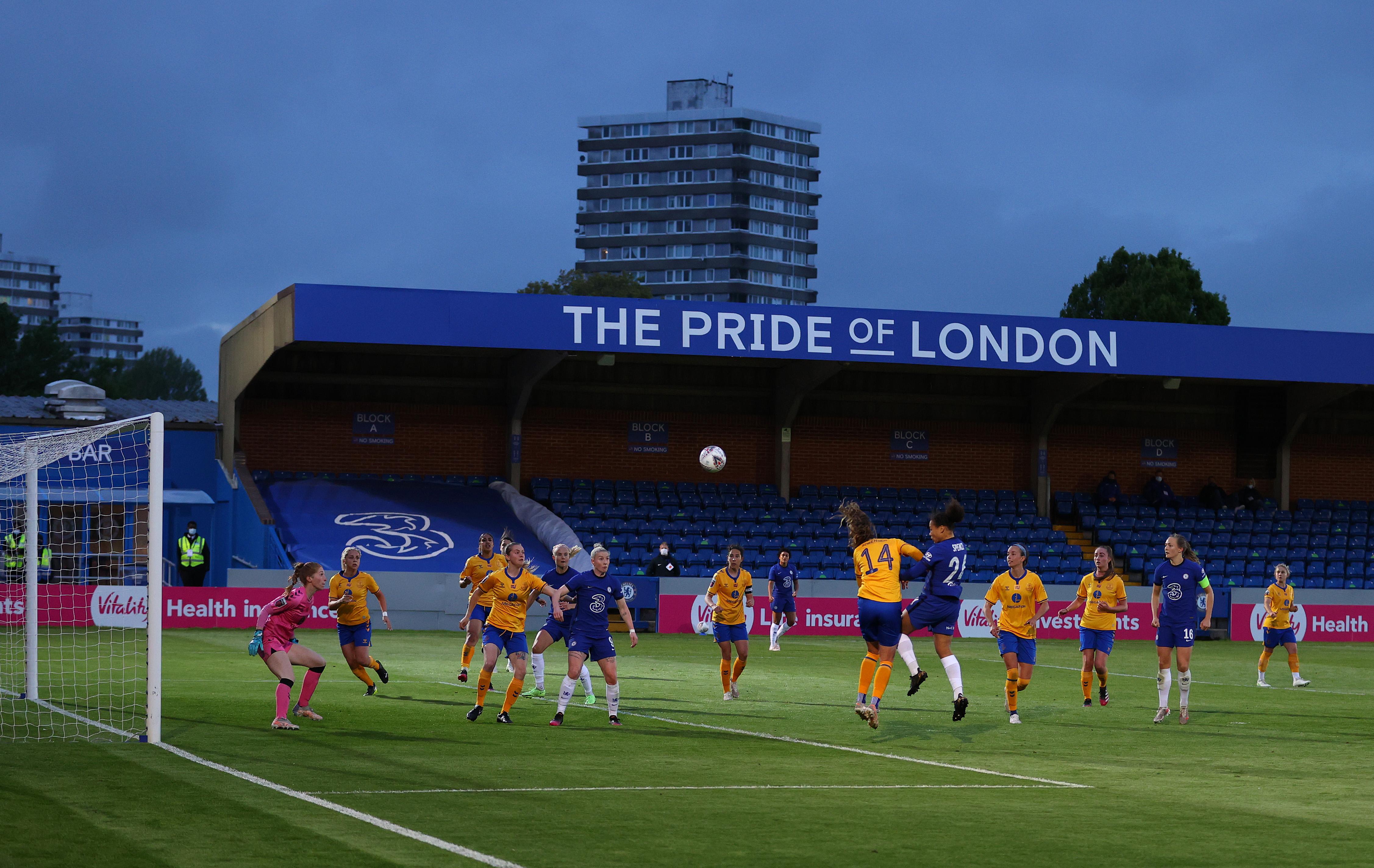 Chelsea Women v Everton Women: Vitality Women's FA Cup 5th Round