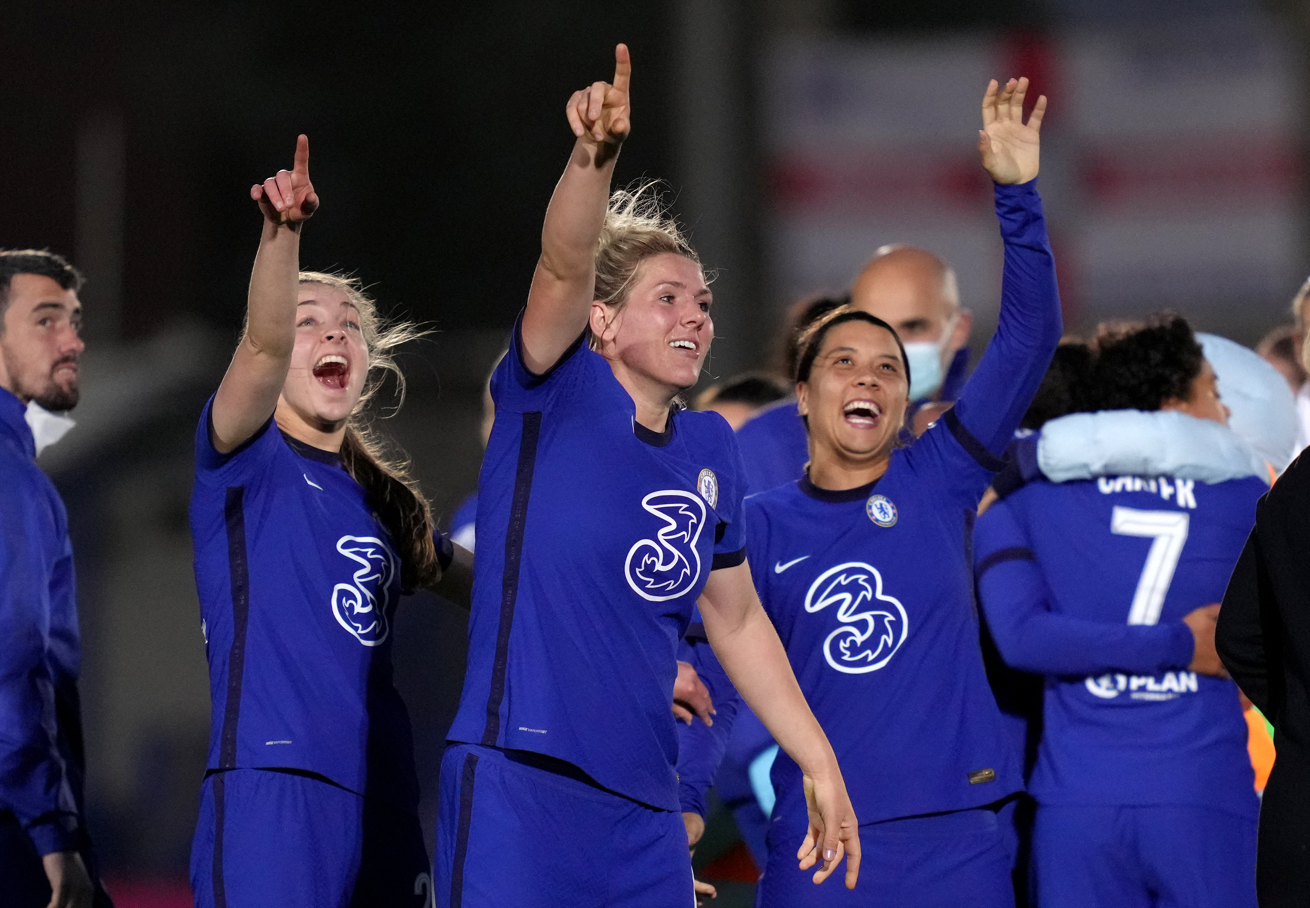 Chelsea v Everton - Vitality Women's FA Cup - Fifth Round - Kingsmeadow