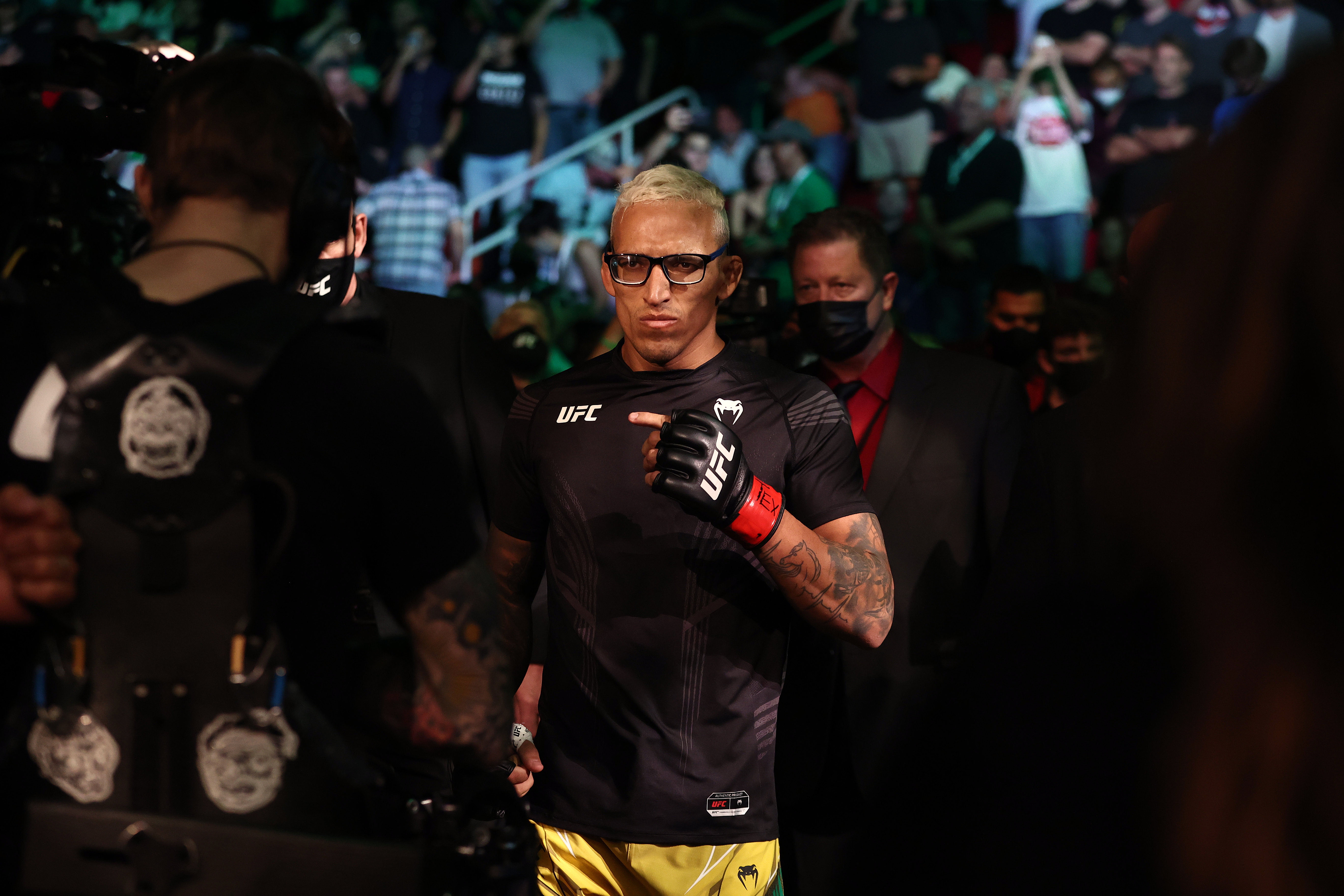Charles Oliveira defeated Michael Chandler at UFC 262.
