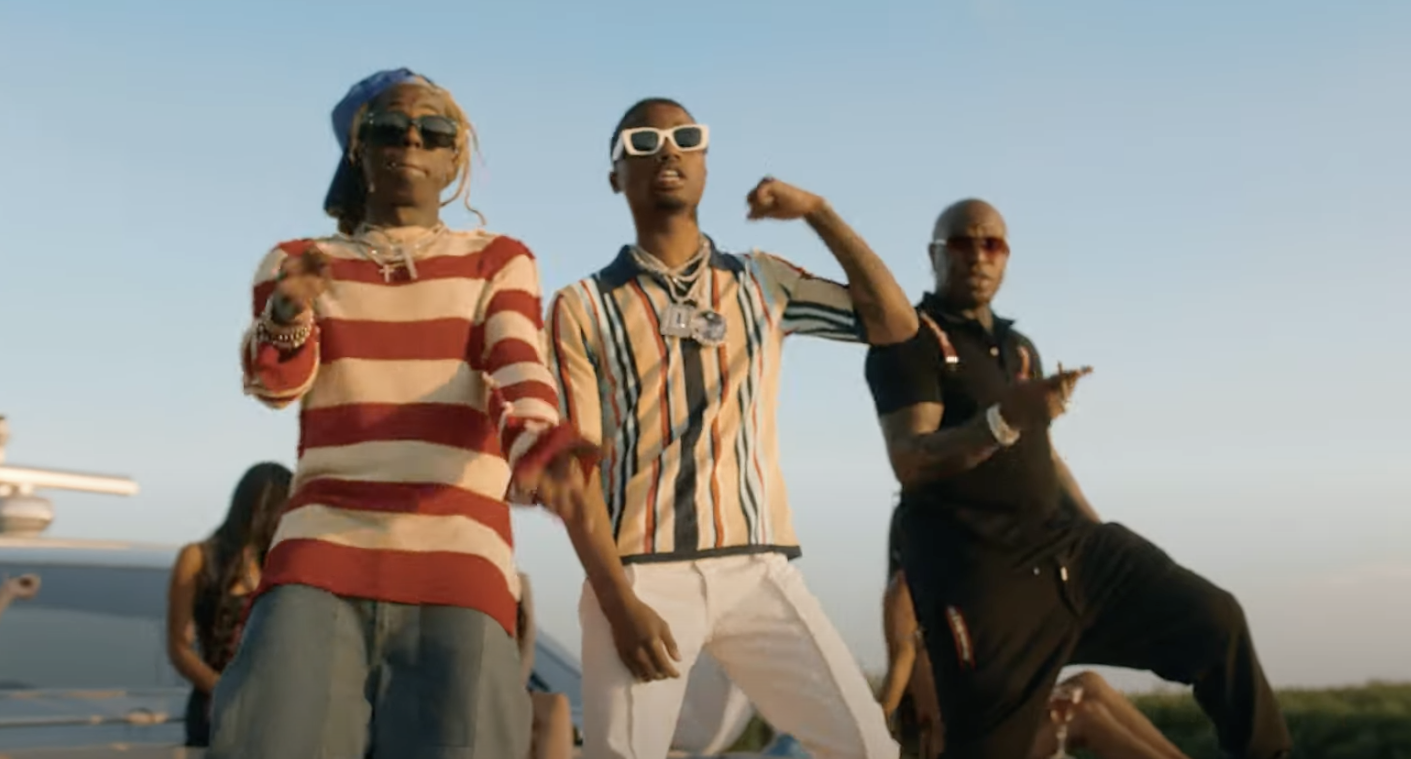 Lil Wayne, Roddy Ricch, and Birdman