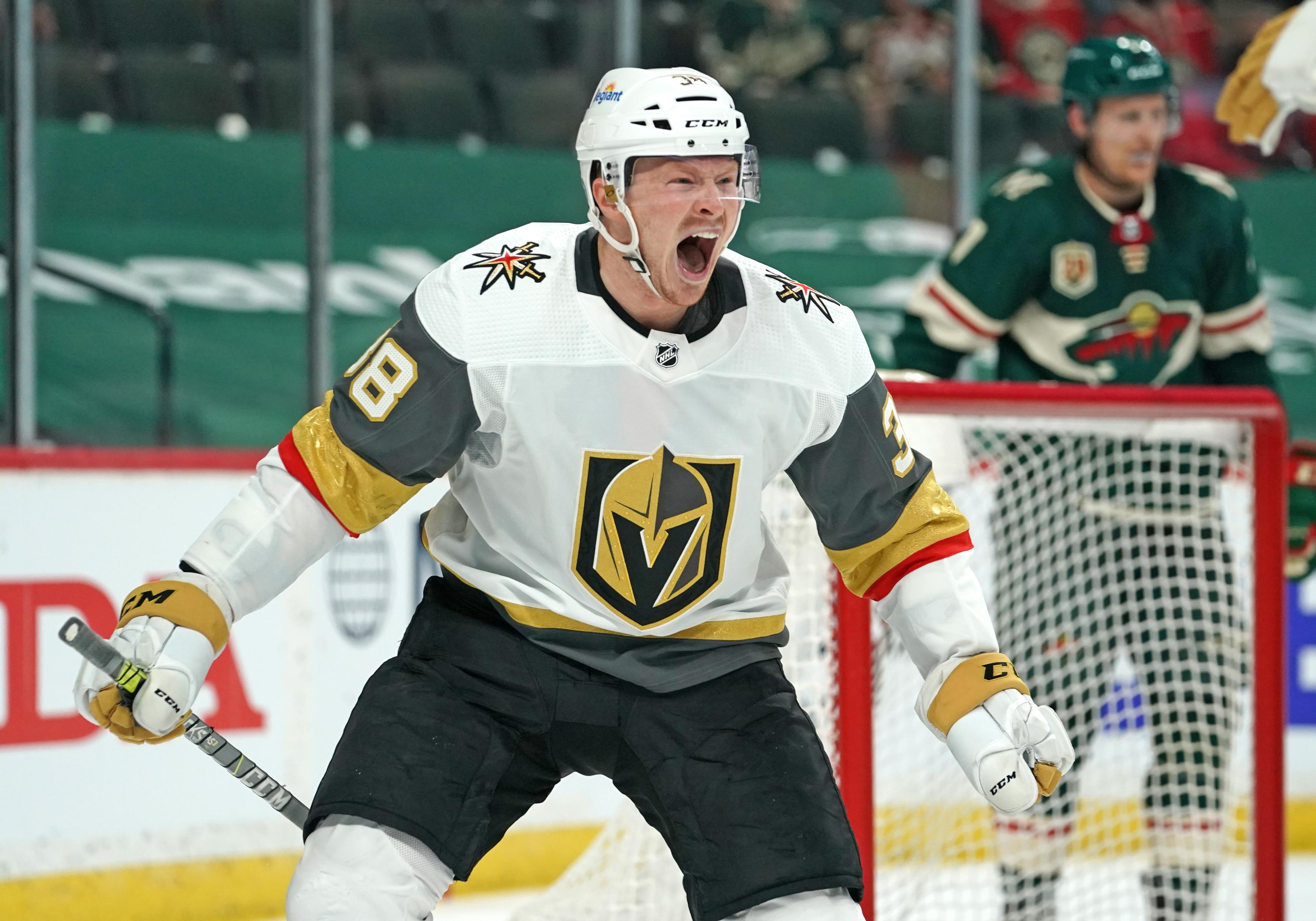 NHL: MAY 20 Stanley Cup Playoffs First Round - Golden Knights at Wild