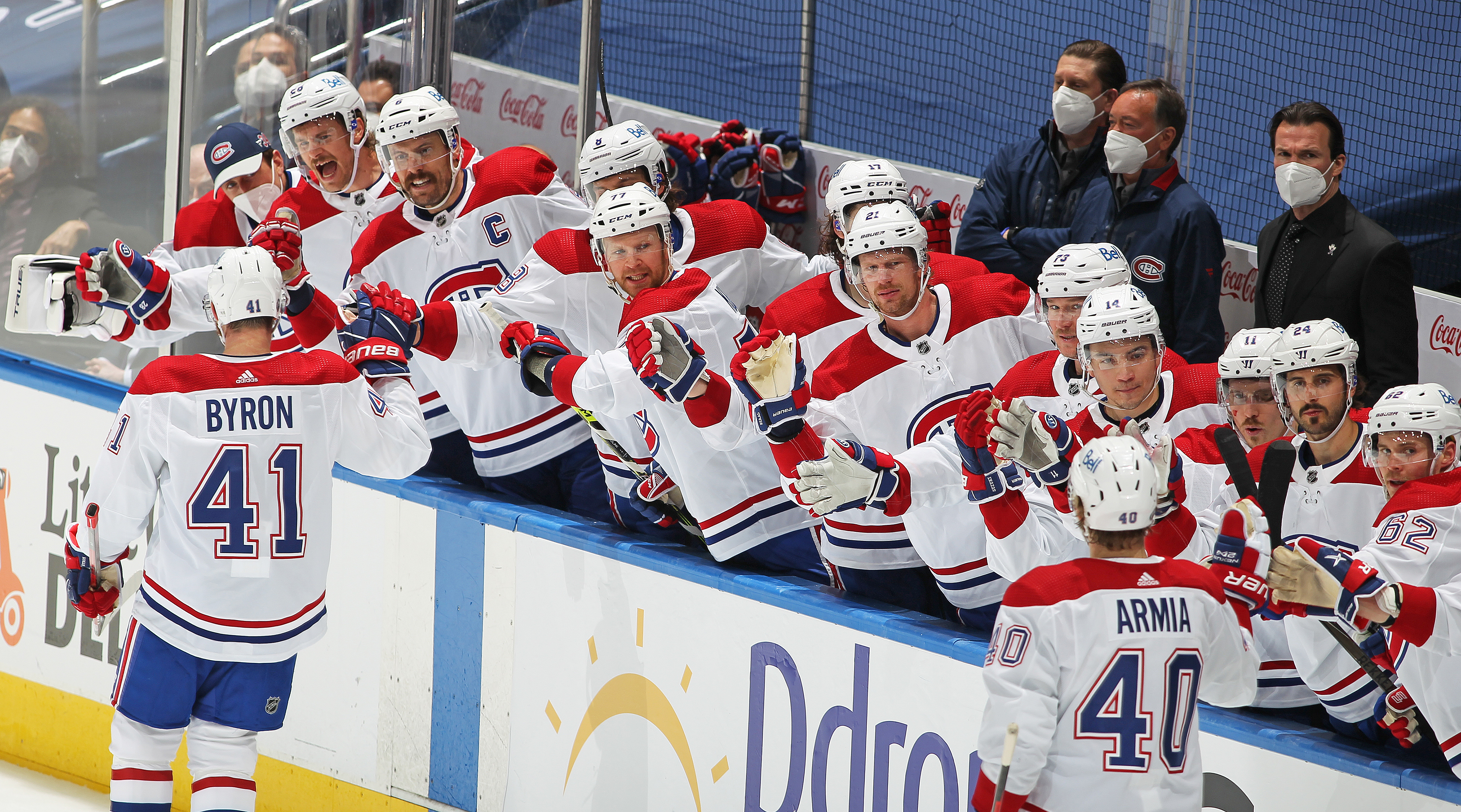 Montreal Canadiens v Toronto Maple Leafs - Game One