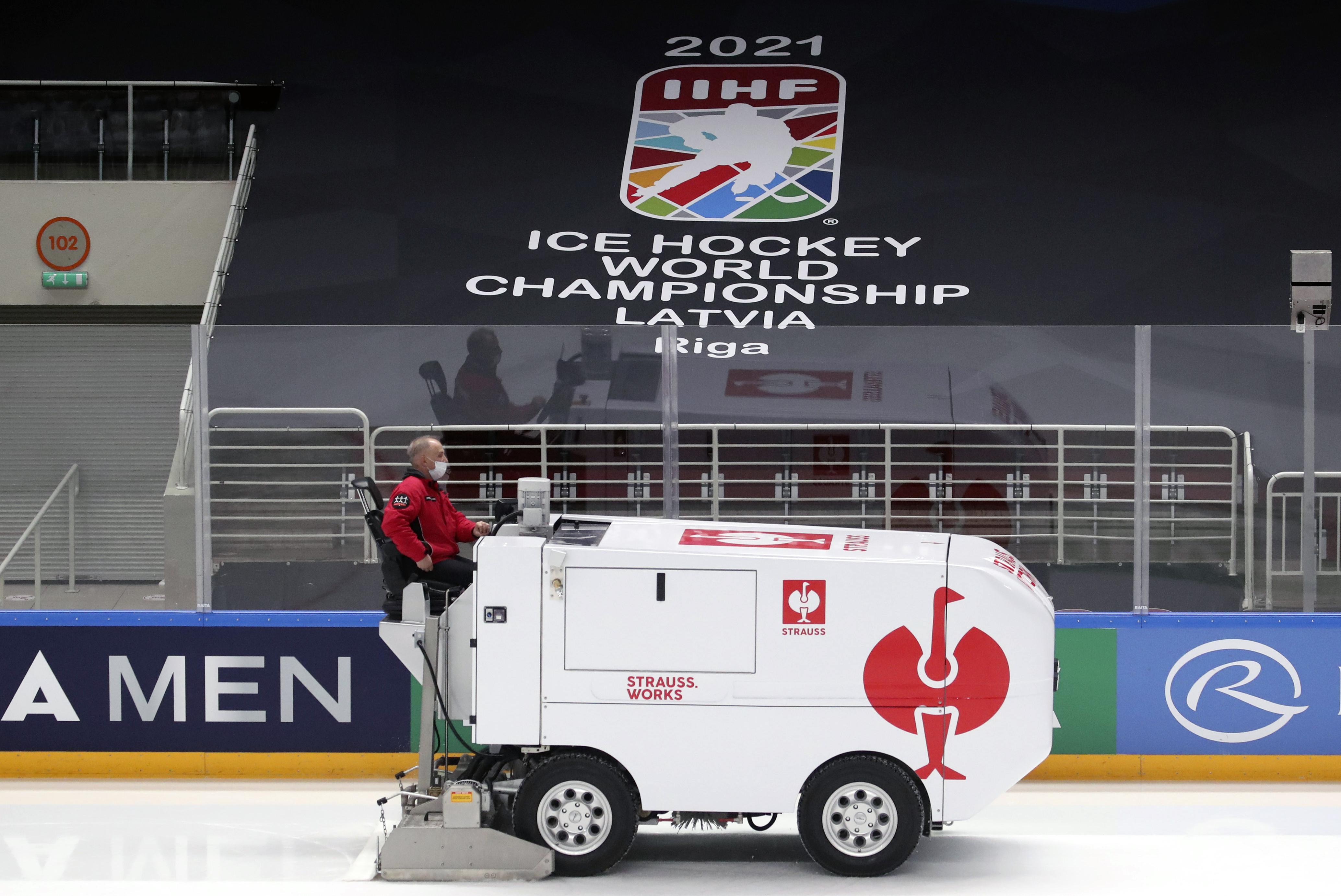 Riga in run-up to 2021 IIHF World Championship