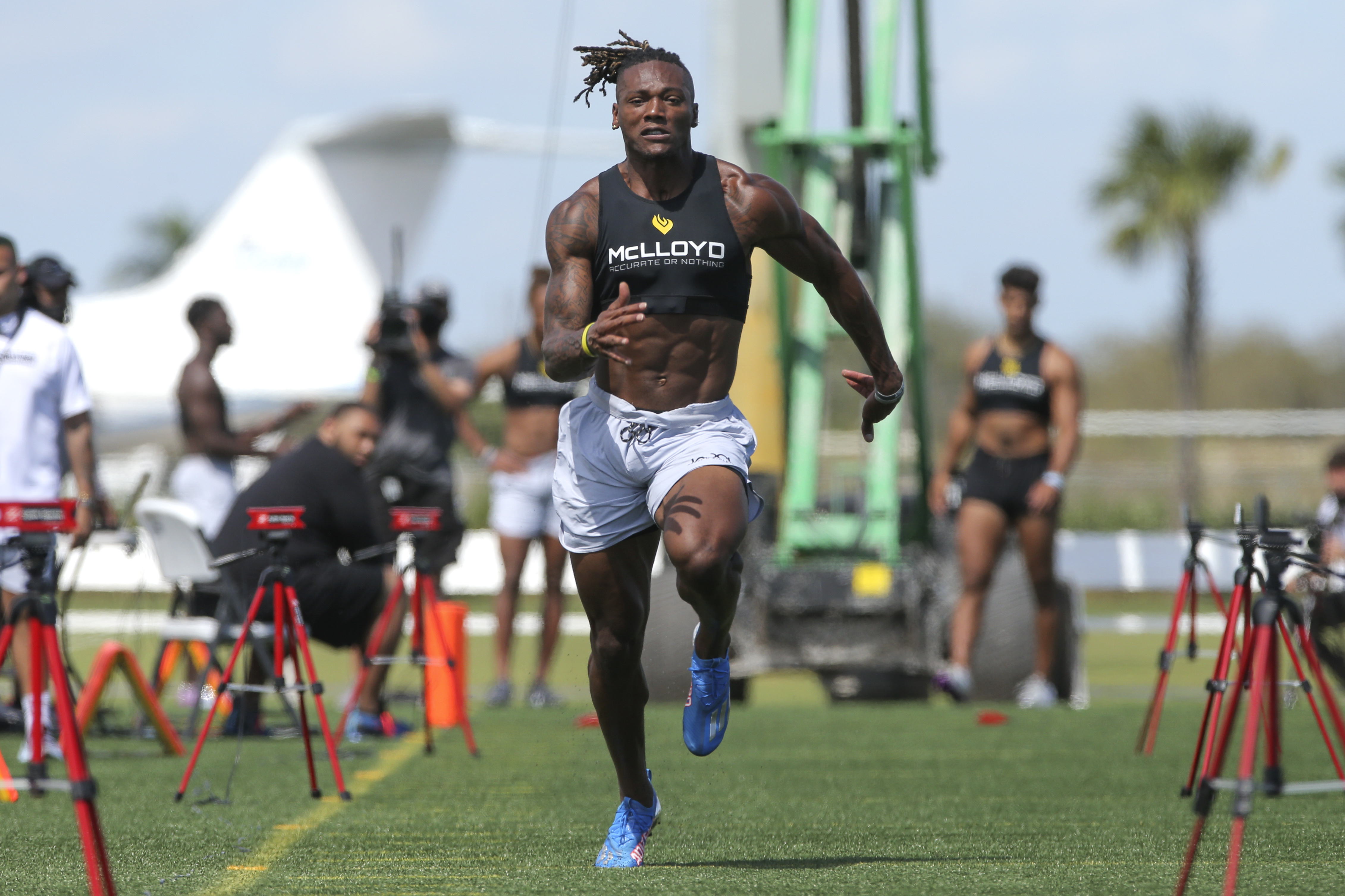 Football: House of Athlete Scouting Combine