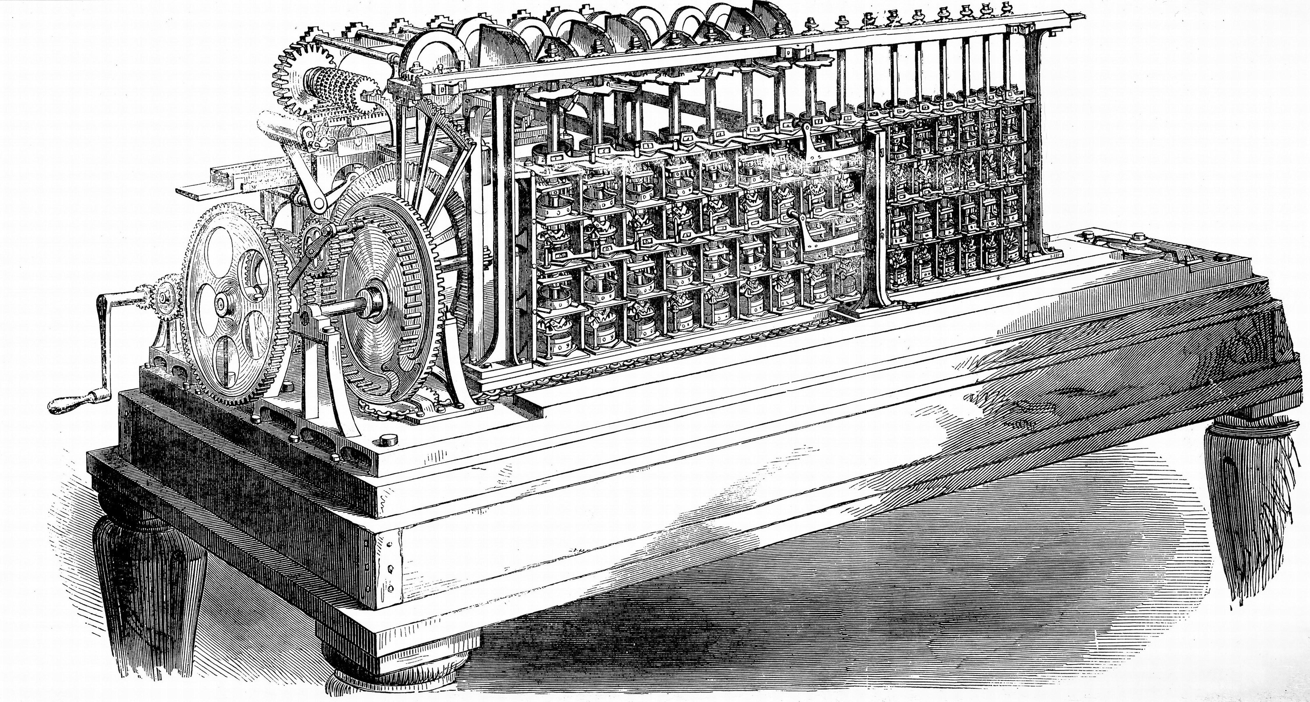 George and Edward Scheutz's calculating machine