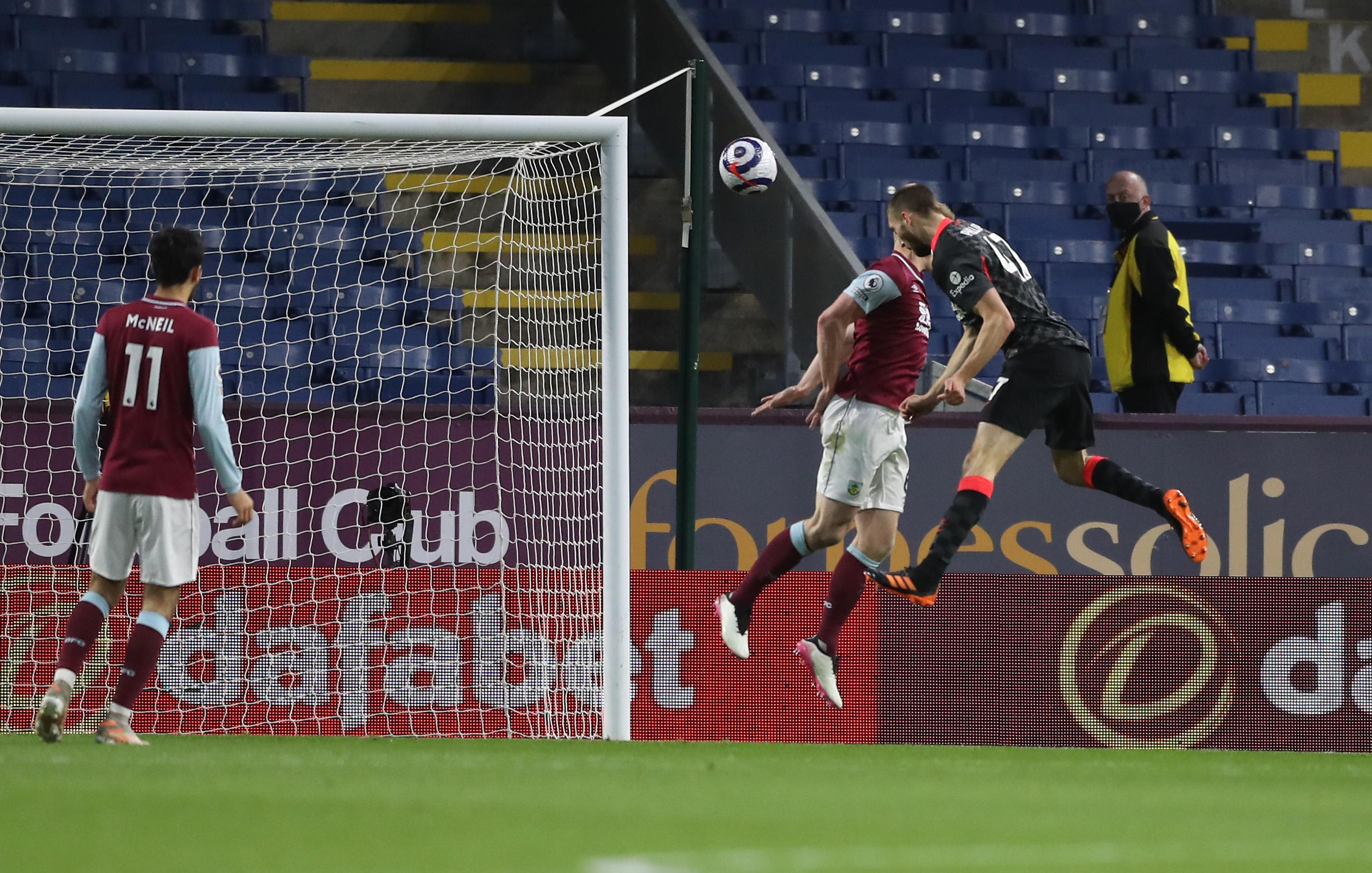 Nathaniel Phillips scores - Liverpool - Premier League