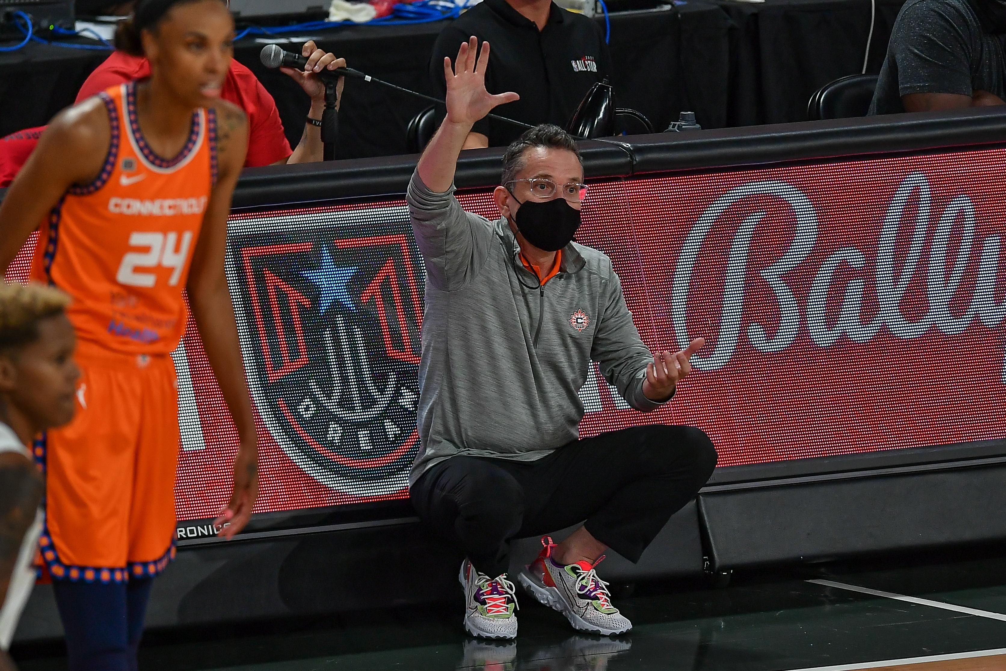 WNBA: MAY 14 Connecticut Sun at Atlanta Dream