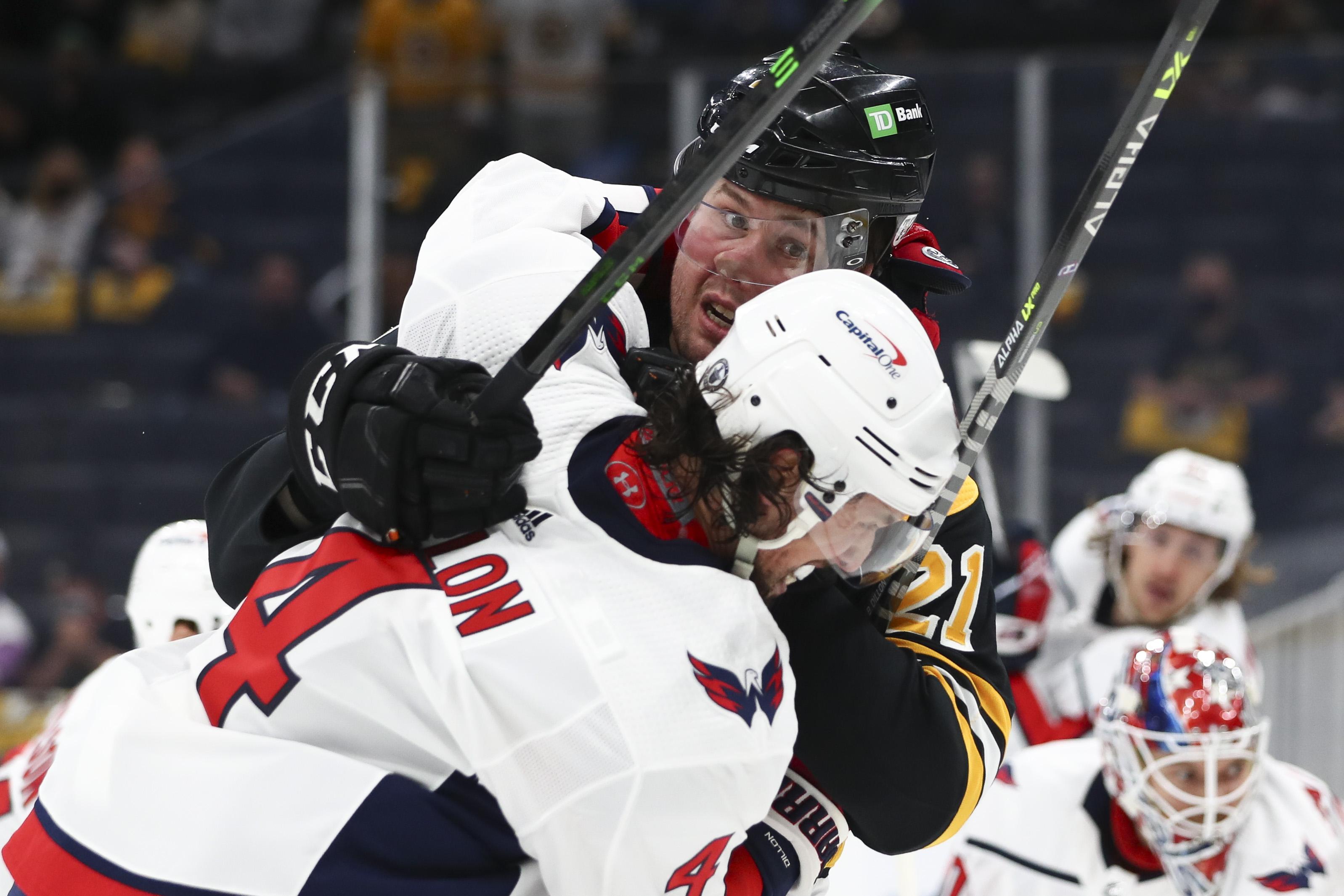 Washington Capitals v Boston Bruins - Game Three