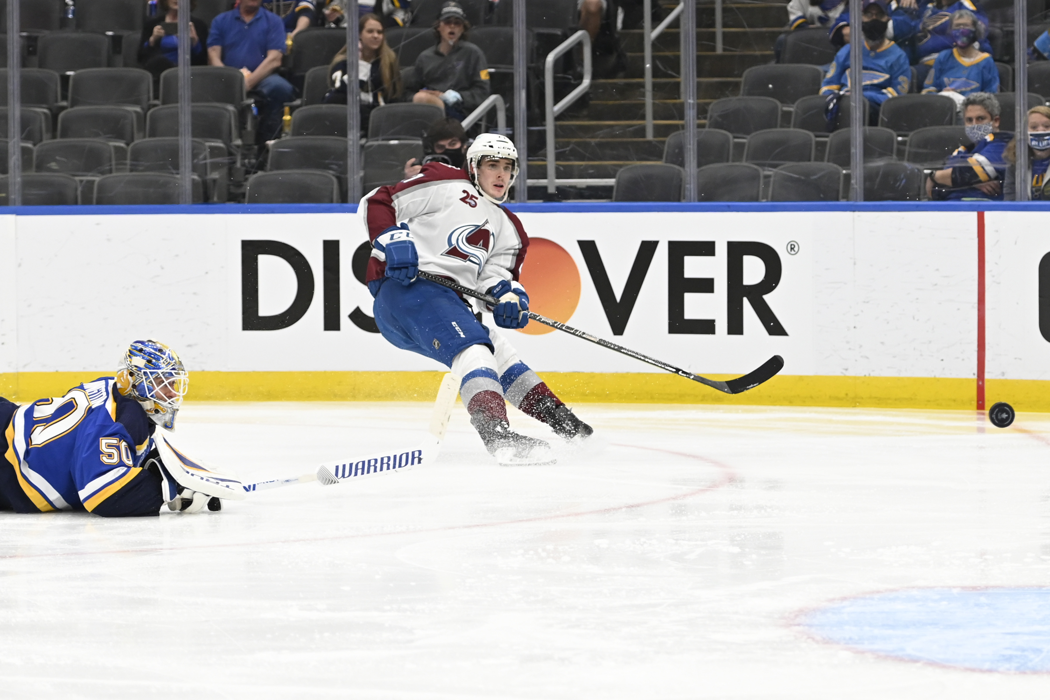 NHL: Stanley Cup Playoffs-Colorado Avalanche at St. Louis Blues