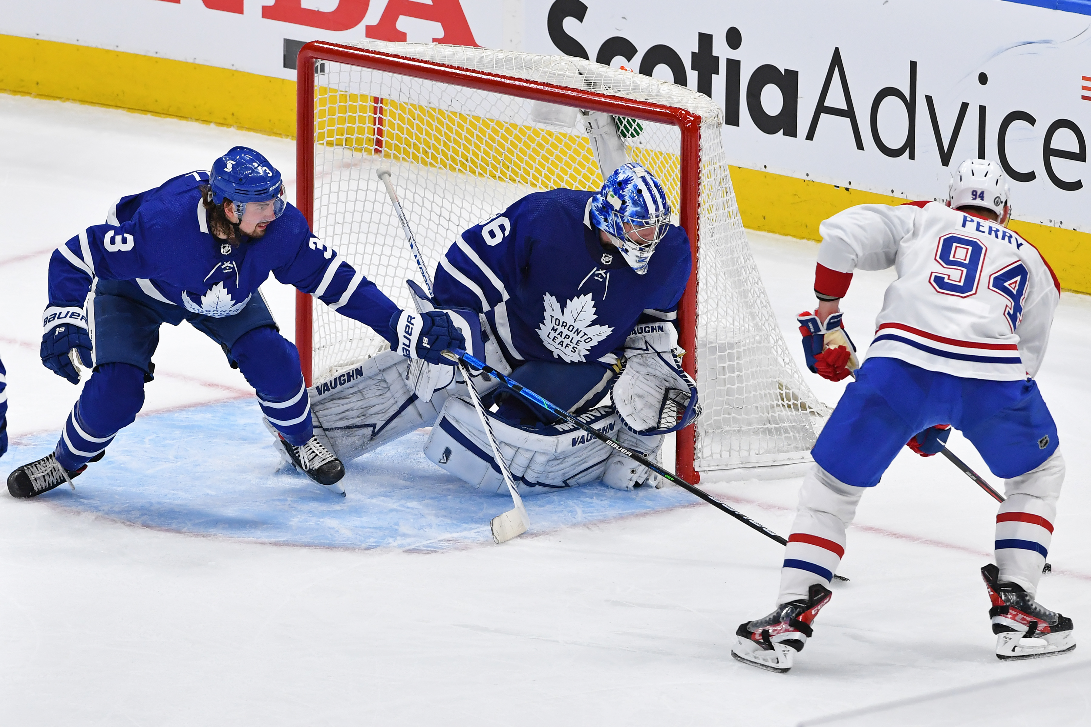 NHL: MAY 20 Stanley Cup Playoffs First Round - Canadiens at Maple Leafs