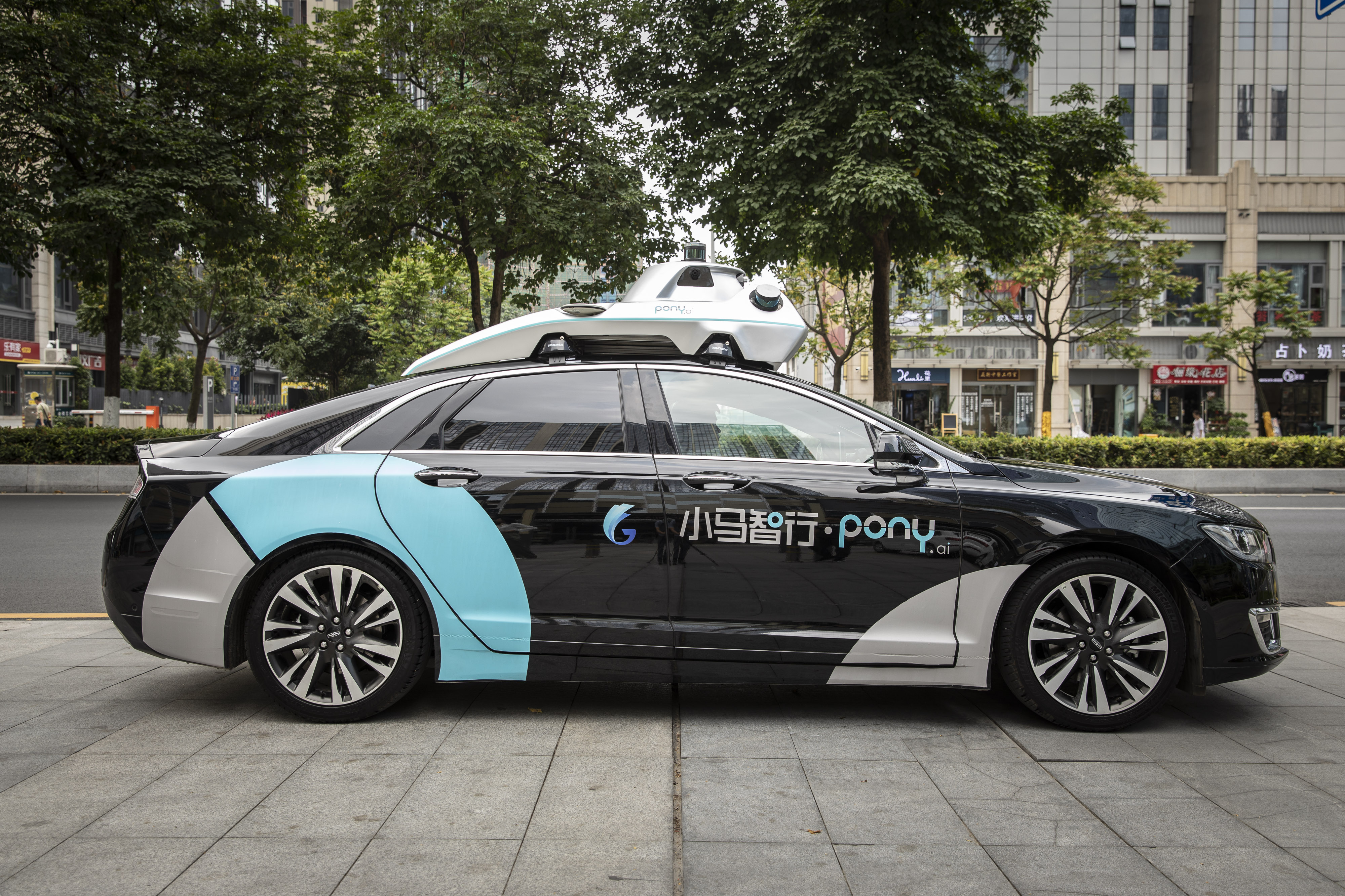 China's Robocars Are Way Behind Their U.S. Counterparts