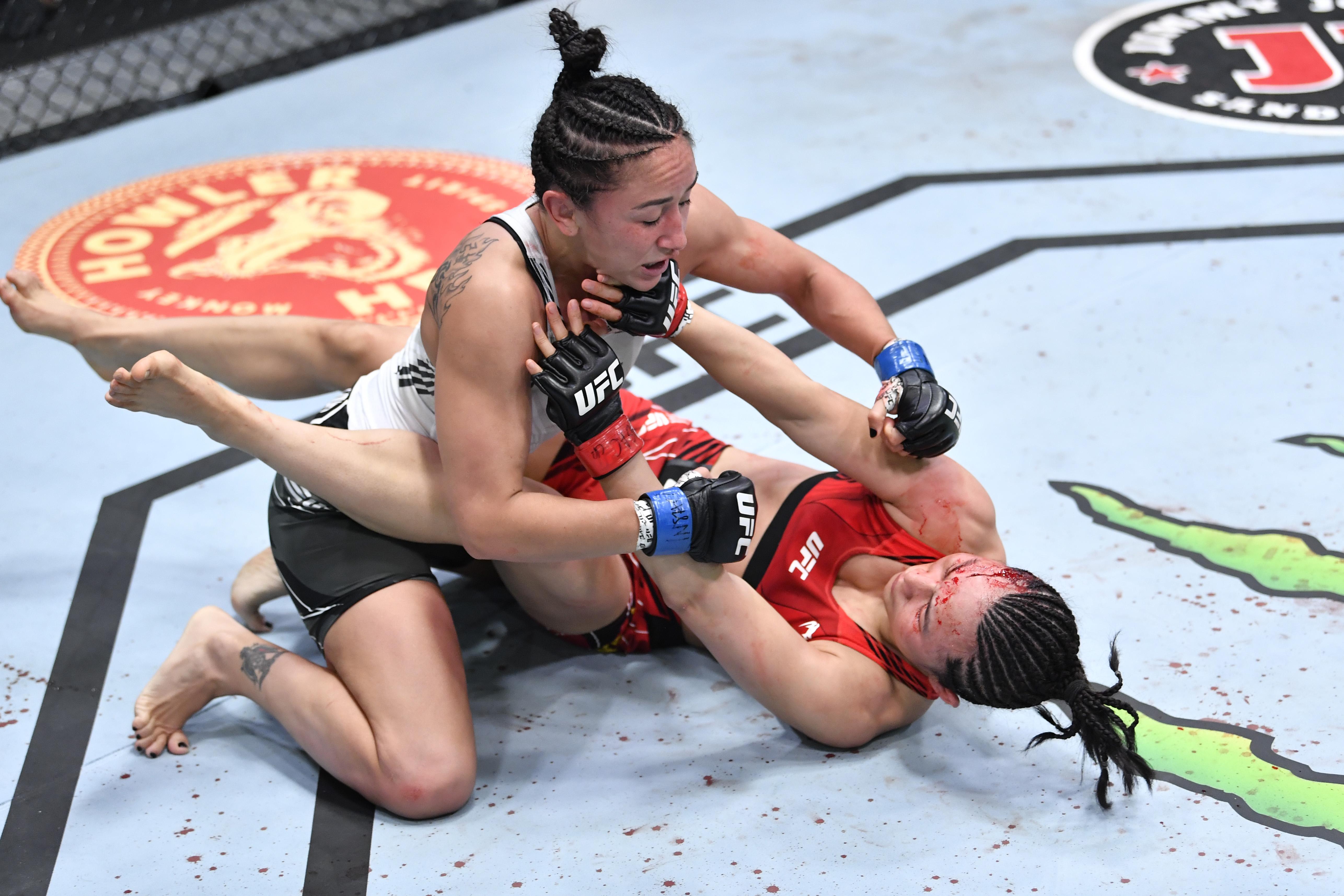 UFC打击之夜:小山v Esparza