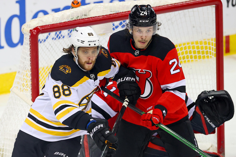 NHL: MAY 03 Bruins at Devils