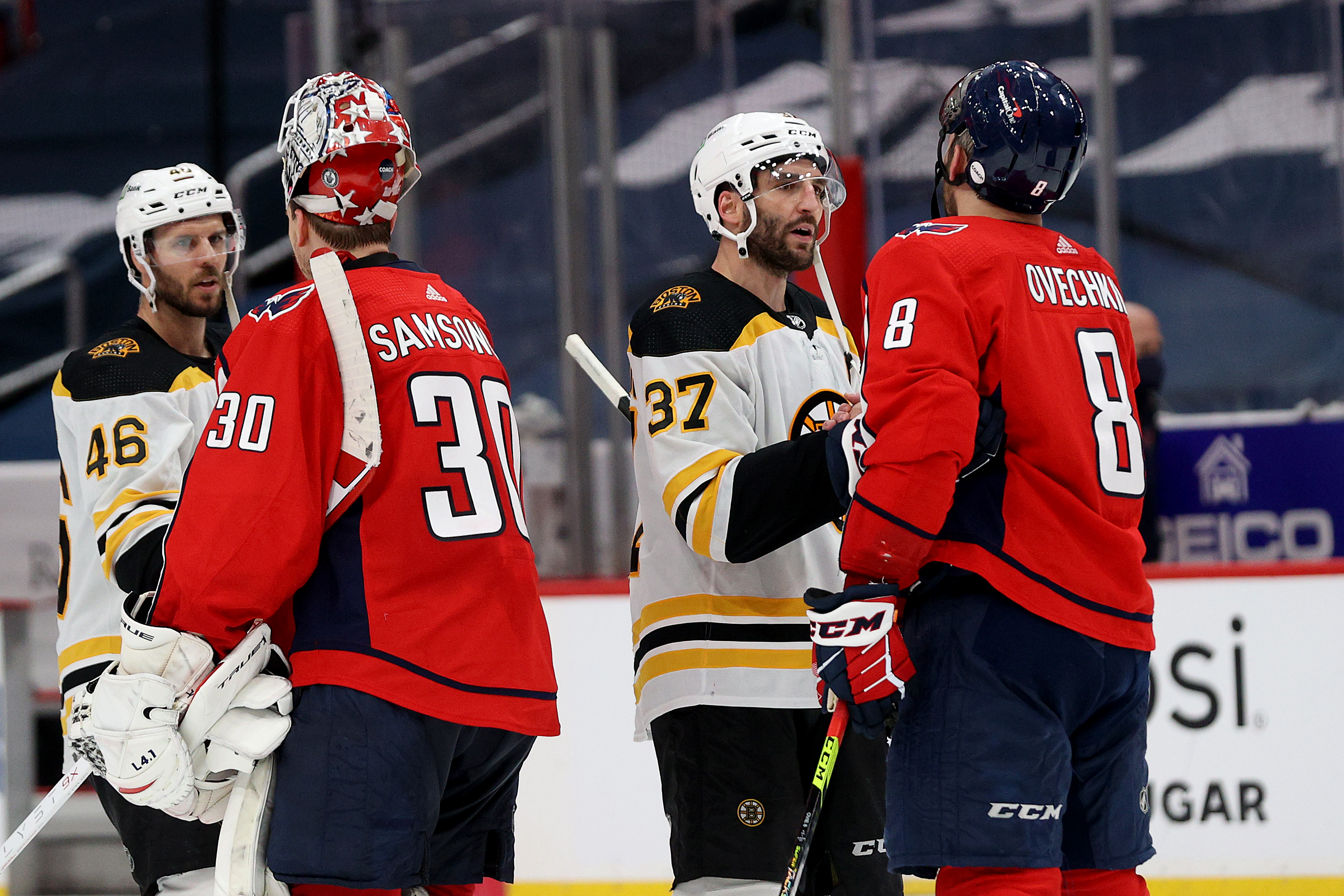 Boston Bruins v Washington Capitals - Game Five