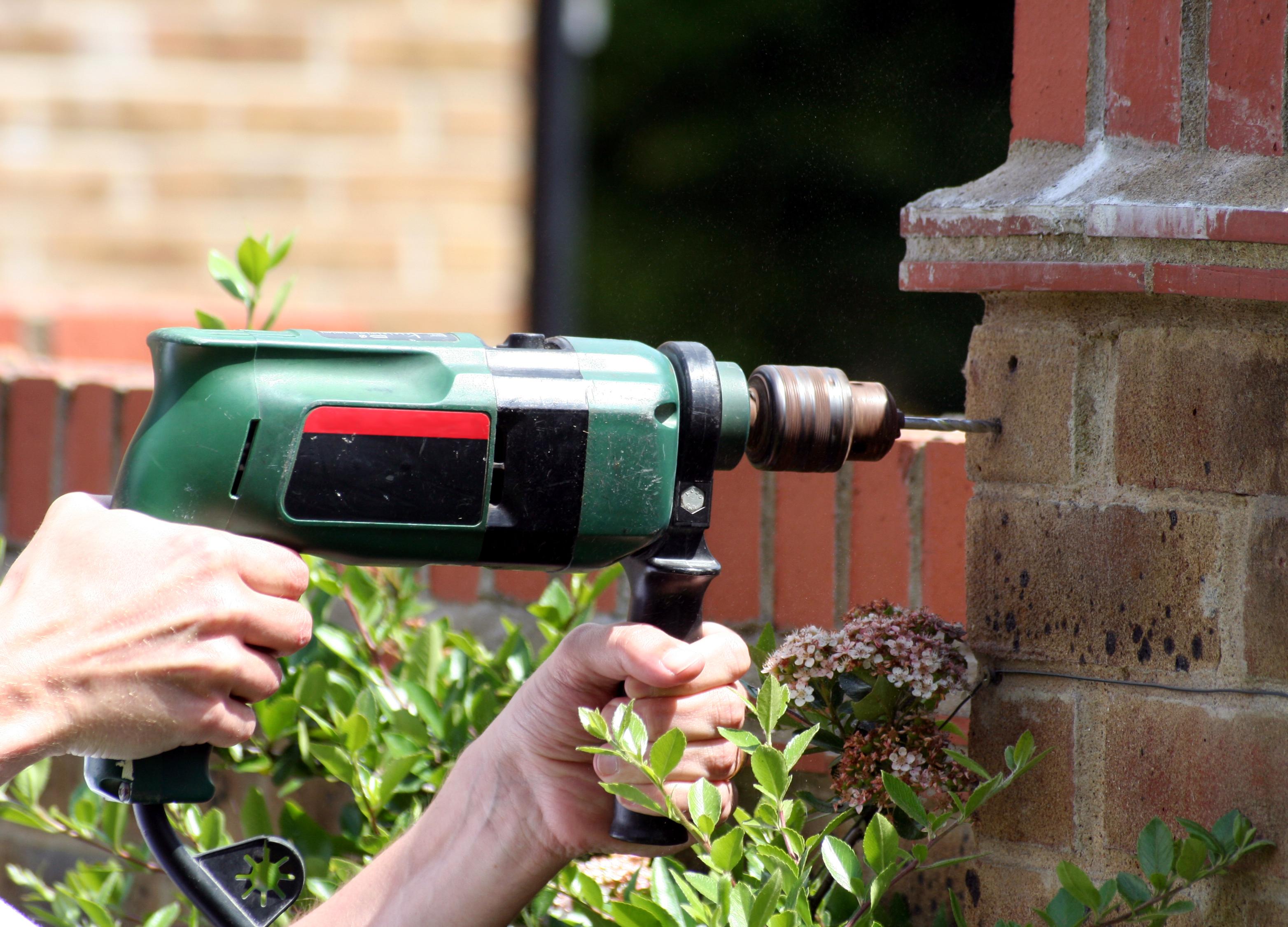 Drill into Brick
