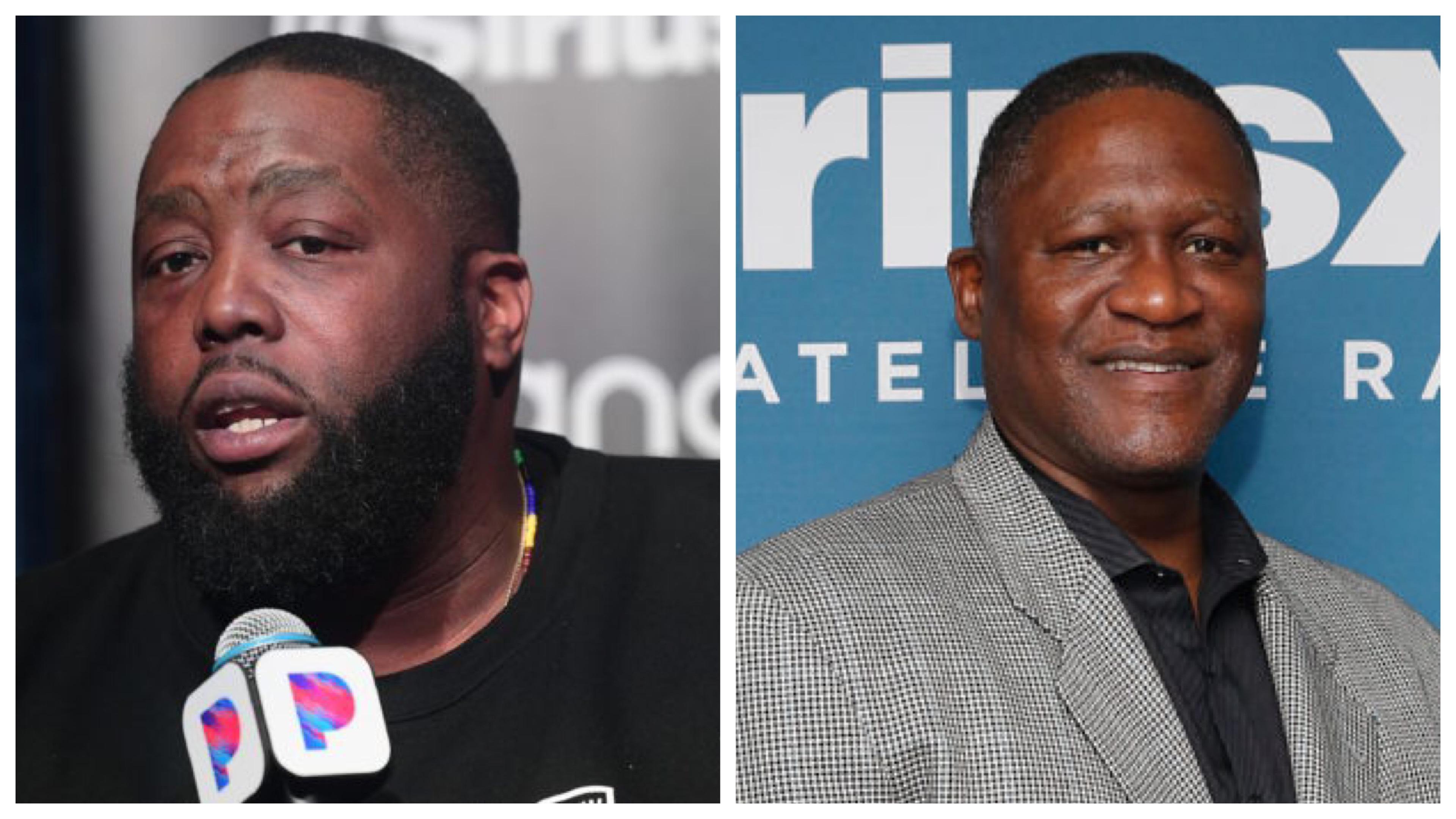 Killer Mike and Dominique Wilkins