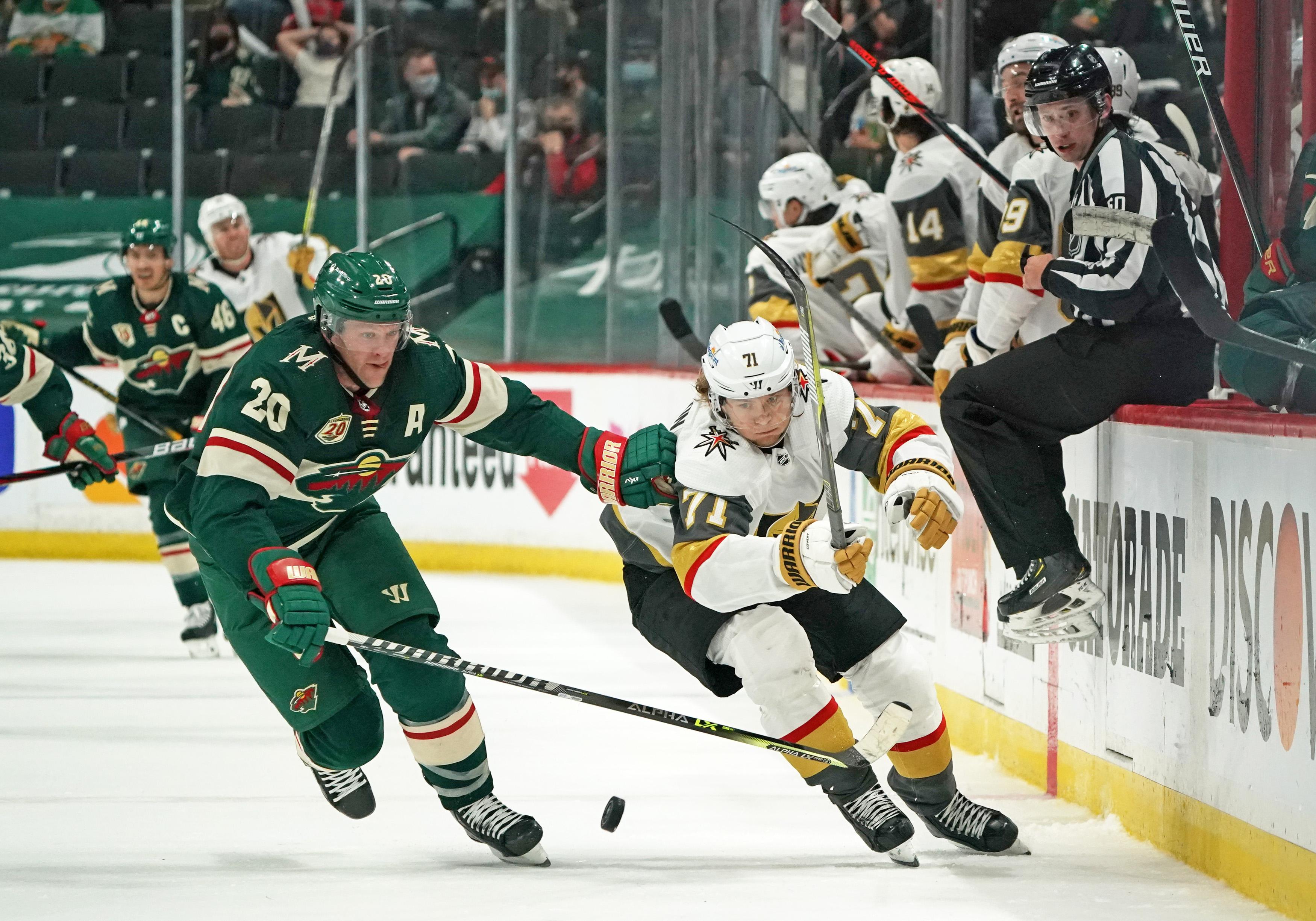 NHL: Vegas at Minnesota Wild