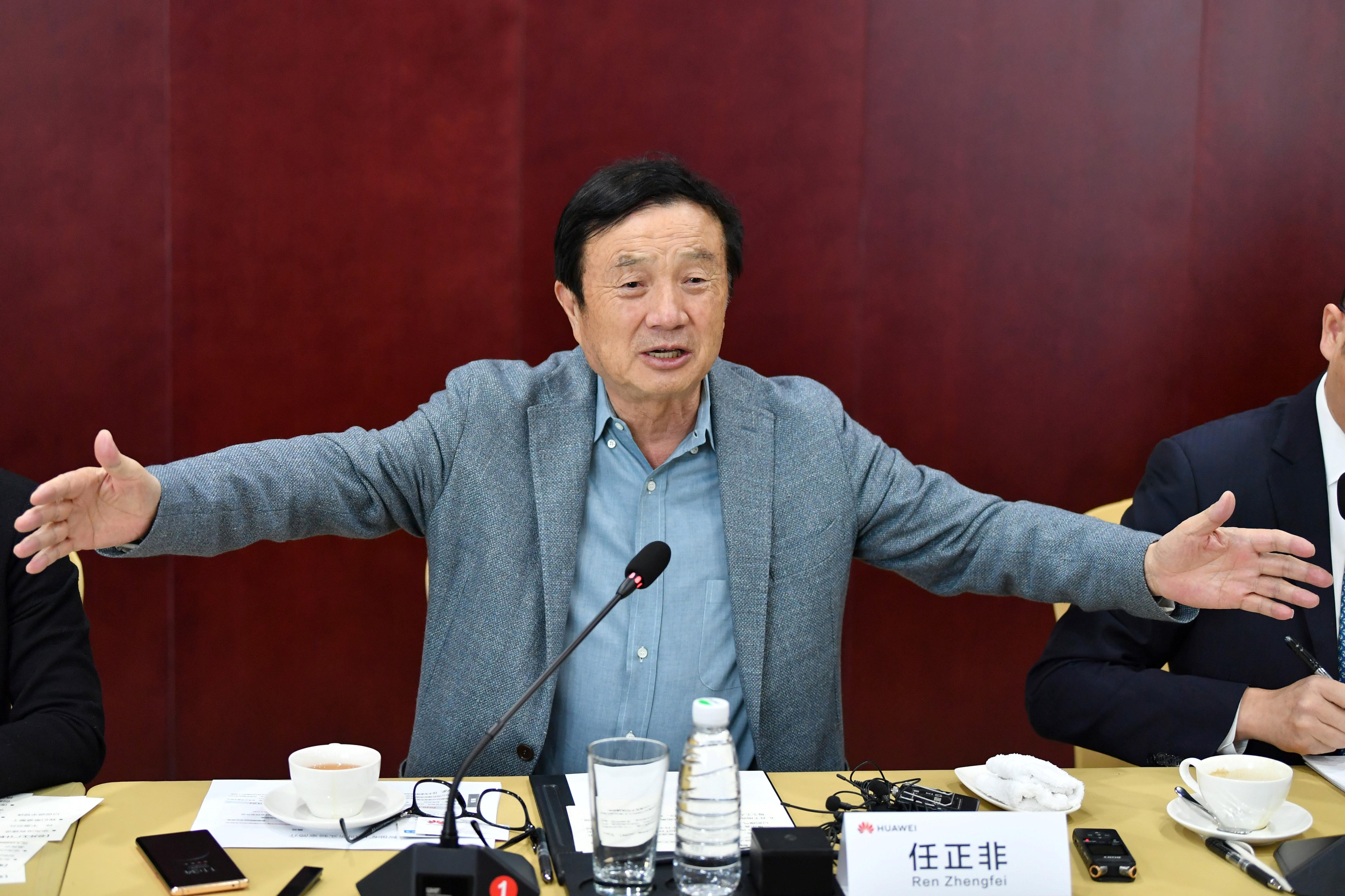 CHINA-TAIYUAN-HUAWEI-REN ZHENGFEI-INTERVIEW (CN)