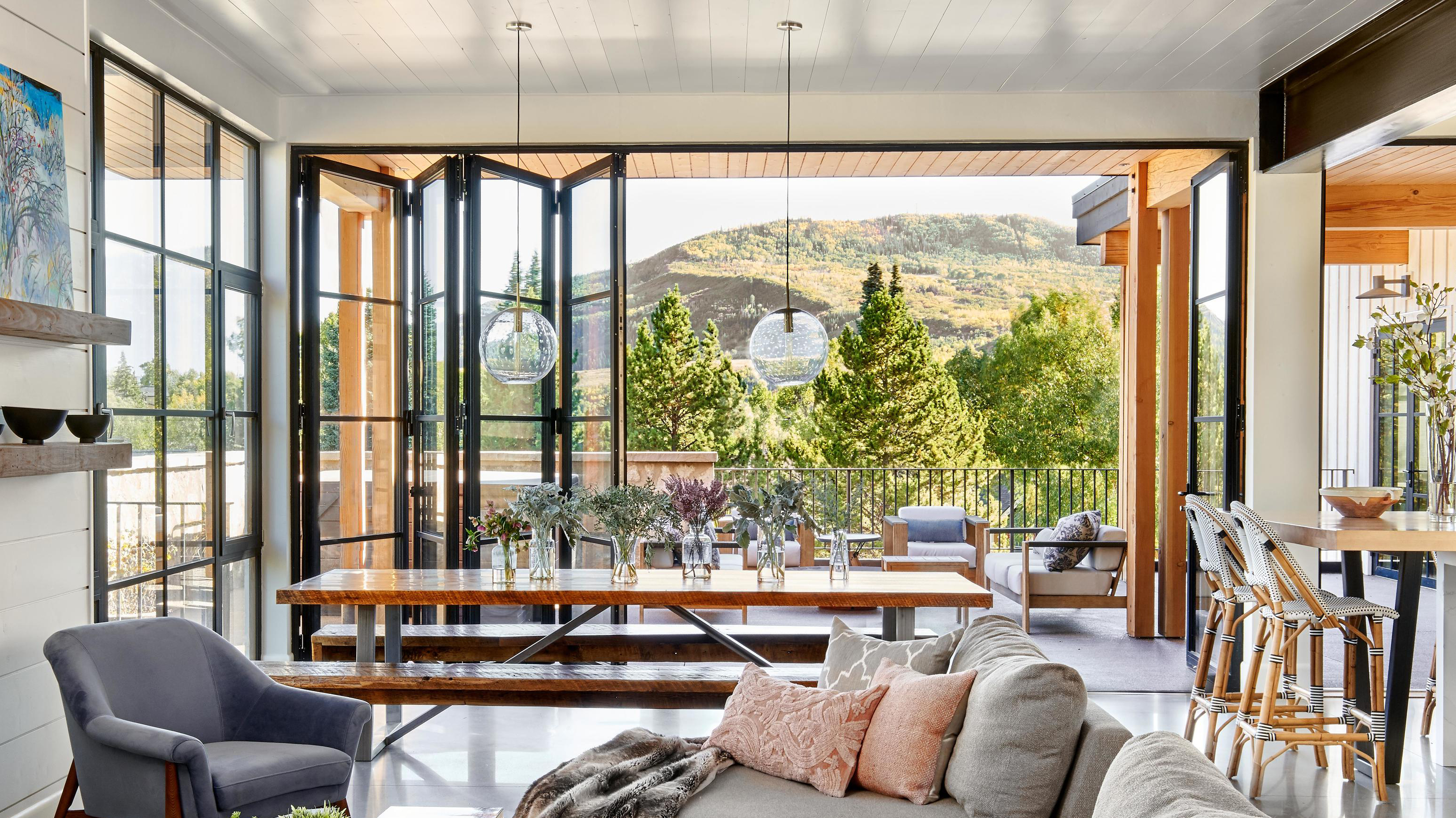 Summer 2021, All about: Multi-panel doors, Ultimate Bi-Fold Doors, from Marvin
