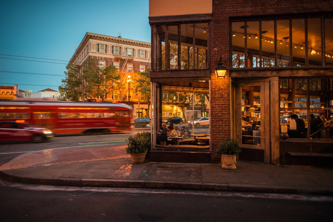 Exterior of Zuni Cafe