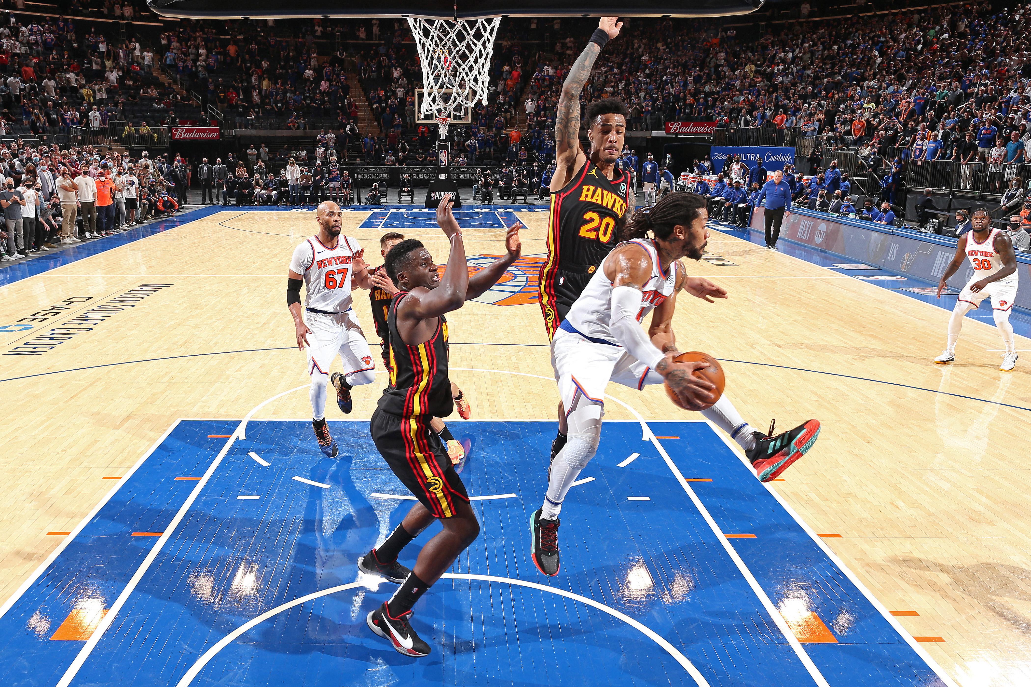 2021年NBA季后赛——亚特兰大老鹰队vs纽约尼克斯队