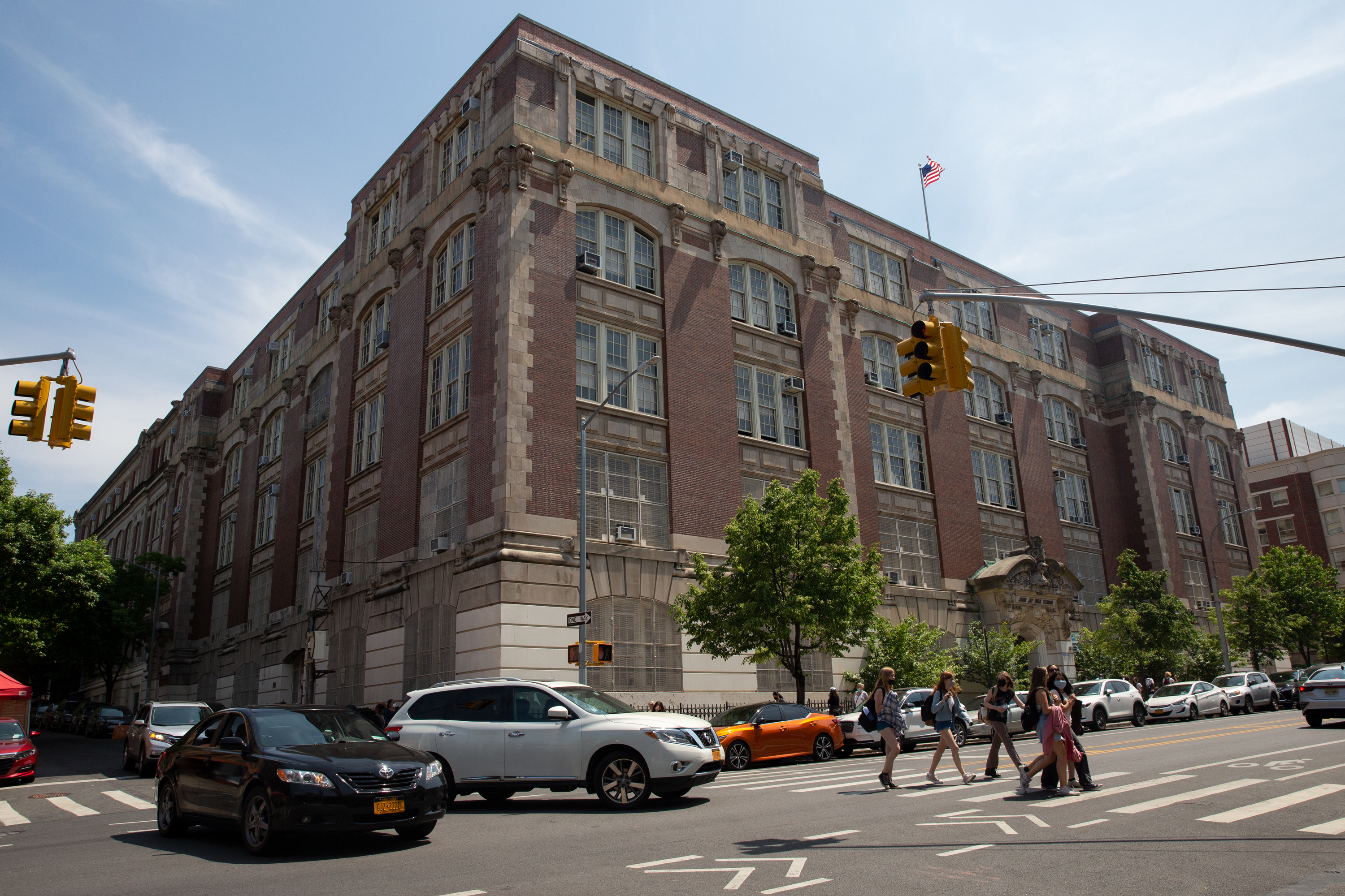 The John Jay education complex in Park Slope, Brooklyn, May 20, 2021.