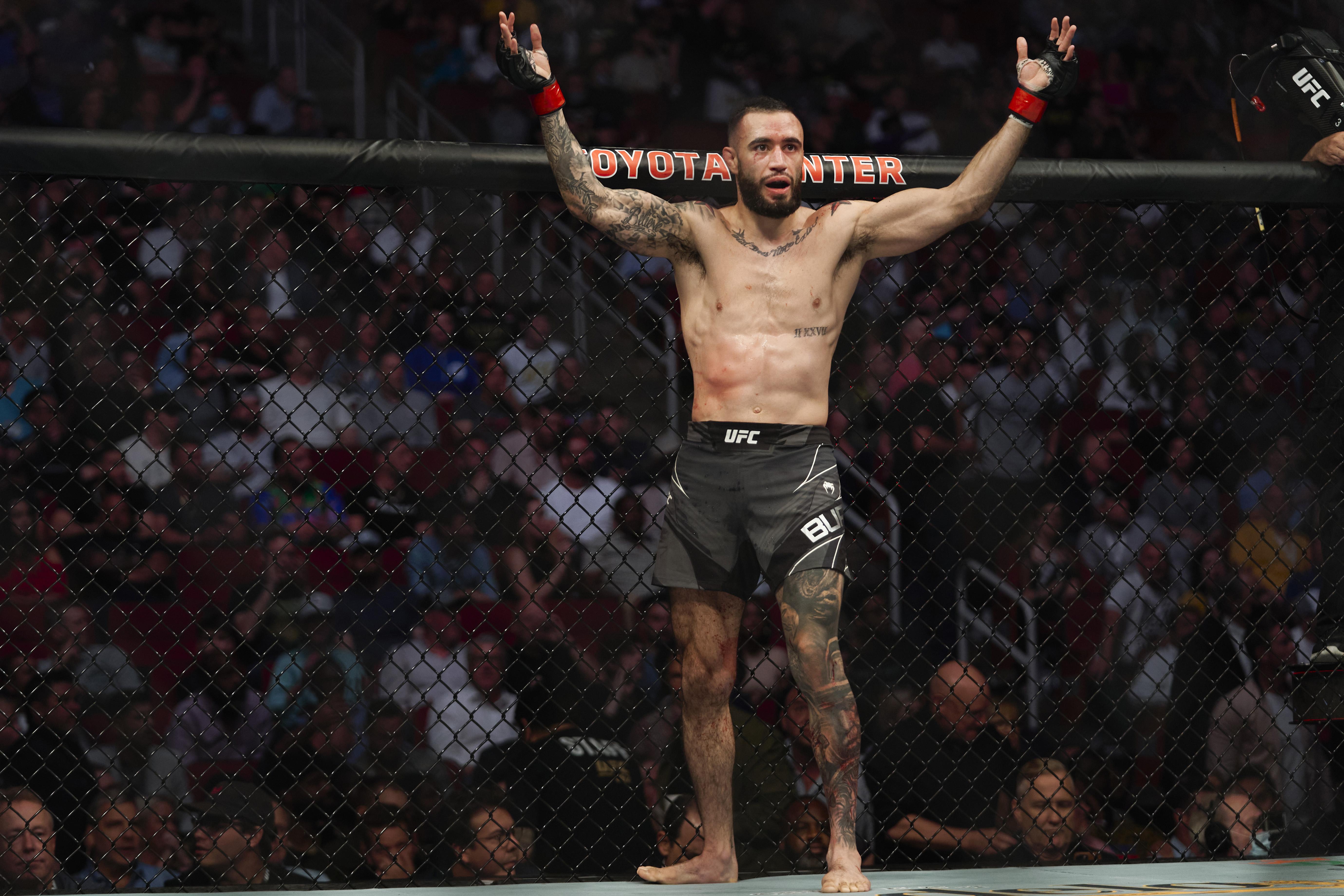 UFC 262:Burgos V Barboza
