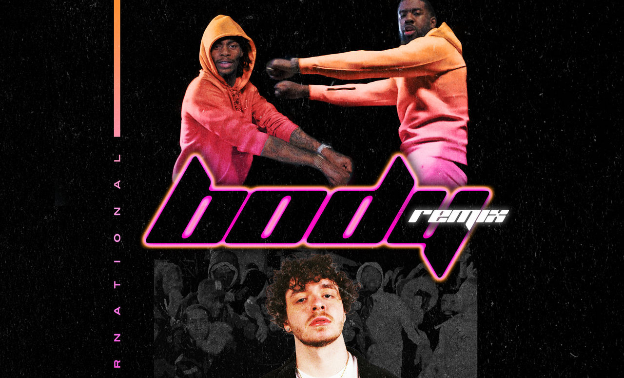 "Tion Wayne and Russ Millions' ""Body (Remix)"" artwork"